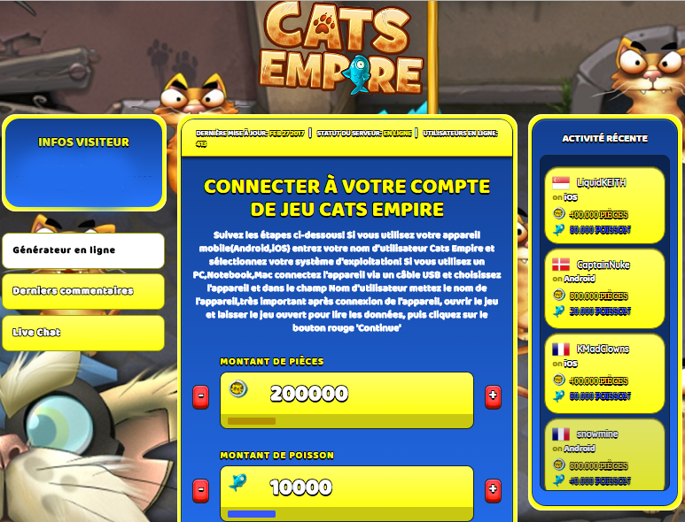 Cats Empire triche, Cats Empire triche en ligne, Cats Empire triche android, Cats Empire triche Pièces et Poisson gratuit, Cats Empire triche illimite Pièces et Poisson, Cats Empire triche ios, Cats Empire triche ipad, Cats Empire triche iphone, Cats Empire gratuit Pièces et Poisson, Cats Empire triche samsung galaxy, Cats Empire triche telecharger, Cats Empire tricher, Cats Empire tricheu, Cats Empire tricheur, triche Cats Empire, code de triche Cats Empire, Cats Empire astuce, Cats Empire astuce en ligne, Cats Empire astuce android, Cats Empire astuce gratuit, Cats Empire astuce ios, Cats Empire astuce iphone, Cats Empire astuce telecharger, Cats Empire astuces, Cats Empire astuces gratuit, Cats Empire astuces android, Cats Empire astuces ios,, Cats Empire astuces telecharger, Cats Empire astuce Pièces et Poisson, Cats Empire cheat, Cats Empire cheats, Cats Empire cheat Pièces et Poisson, Cats Empire cheat gratuit, Cats Empire cheat iphone, Cats Empire cheat telecharger, Cats Empire hack online, Cats Empire hack generator, Cats Empire hack android, Cats Empire hack Pièces et Poisson, Cats Empire illimité Pièces et Poisson, Cats Empire mod apk, Cats Empire mod apk Pièces et Poisson, Cats Empire mod apk android, Cats Empire outil, Cats Empire outil de piratage, Cats Empire pirater, Cats Empire pirater en ligne, Cats Empire pirater android, Cats Empire pirater Pièces et Poisson, Cats Empire pirater gratuit, Cats Empire pirater ios, Cats Empire pirater iphone, Cats Empire pirater illimite Pièces et Poisson, Cats Empire triche jeu, Cats Empire astuce triche en ligne, comment tricheur sur Cats Empire, Pièces et Poisson gratuit dans Cats Empire, Cats Empire illimite Pièces et Poisson, Cats Empire hacken, Cats Empire beschummeln, Cats Empire betrügen, Cats Empire betrügen Pièces et Poisson, Cats Empire unbegrenzt Pièces et Poisson, Cats Empire Pièces et Poisson frei, Cats Empire hacken Pièces et Poisson, Cats Empire Pièces et Poisson gratuito, Cats Empire mod Pièces et Poisson, Cats Empire trucchi, Cats Empire engañar
