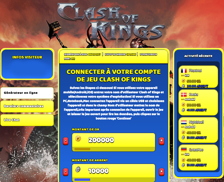 Clash of Kings triche, Clash of Kings triche en ligne, Clash of Kings triche android, Clash of Kings triche Or et Argent gratuit, Clash of Kings triche illimite Or et Argent, Clash of Kings triche ios, Clash of Kings triche ipad, Clash of Kings triche iphone, Clash of Kings gratuit Or et Argent, Clash of Kings triche samsung galaxy, Clash of Kings triche telecharger, Clash of Kings tricher, Clash of Kings tricheu, Clash of Kings tricheur, triche Clash of Kings, code de triche Clash of Kings, Clash of Kings astuce, Clash of Kings astuce en ligne, Clash of Kings astuce android, Clash of Kings astuce gratuit, Clash of Kings astuce ios, Clash of Kings astuce iphone, Clash of Kings astuce telecharger, Clash of Kings astuces, Clash of Kings astuces gratuit, Clash of Kings astuces android, Clash of Kings astuces ios,, Clash of Kings astuces telecharger, Clash of Kings astuce Or et Argent, Clash of Kings cheat, Clash of Kings cheats, Clash of Kings cheat Or et Argent, Clash of Kings cheat gratuit, Clash of Kings cheat iphone, Clash of Kings cheat telecharger, Clash of Kings hack online, Clash of Kings hack generator, Clash of Kings hack android, Clash of Kings hack Or et Argent, Clash of Kings illimité Or et Argent, Clash of Kings mod apk, Clash of Kings mod apk Or et Argent, Clash of Kings mod apk android, Clash of Kings outil, Clash of Kings outil de piratage, Clash of Kings pirater, Clash of Kings pirater en ligne, Clash of Kings pirater android, Clash of Kings pirater Or et Argent, Clash of Kings pirater gratuit, Clash of Kings pirater ios, Clash of Kings pirater iphone, Clash of Kings pirater illimite Or et Argent, Clash of Kings triche jeu, Clash of Kings astuce triche en ligne, comment tricheur sur Clash of Kings, Or et Argent gratuit dans Clash of Kings, Clash of Kings illimite Or et Argent, Clash of Kings hacken, Clash of Kings beschummeln, Clash of Kings betrügen, Clash of Kings betrügen Or et Argent, Clash of Kings unbegrenzt Or et Argent, Clash of Kings Or et Argent frei, Clash of Kings hacken Or et Argent, Clash of Kings Or et Argent gratuito, Clash of Kings mod Or et Argent, Clash of Kings trucchi, Clash of Kings engañar