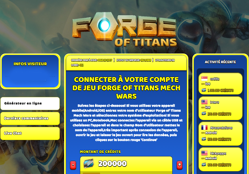 Forge of Titans Mech Wars triche, Forge of Titans Mech Wars triche en ligne, Forge of Titans Mech Wars triche android, Forge of Titans Mech Wars triche Crédits gratuit, Forge of Titans Mech Wars triche illimite Crédits, Forge of Titans Mech Wars triche ios, Forge of Titans Mech Wars triche ipad, Forge of Titans Mech Wars triche iphone, Forge of Titans Mech Wars gratuit Crédits, Forge of Titans Mech Wars triche samsung galaxy, Forge of Titans Mech Wars triche telecharger, Forge of Titans Mech Wars tricher, Forge of Titans Mech Wars tricheu, Forge of Titans Mech Wars tricheur, triche Forge of Titans Mech Wars, code de triche Forge of Titans Mech Wars, Forge of Titans Mech Wars astuce, Forge of Titans Mech Wars astuce en ligne, Forge of Titans Mech Wars astuce android, Forge of Titans Mech Wars astuce gratuit, Forge of Titans Mech Wars astuce ios, Forge of Titans Mech Wars astuce iphone, Forge of Titans Mech Wars astuce telecharger, Forge of Titans Mech Wars astuces, Forge of Titans Mech Wars astuces gratuit, Forge of Titans Mech Wars astuces android, Forge of Titans Mech Wars astuces ios,, Forge of Titans Mech Wars astuces telecharger, Forge of Titans Mech Wars astuce Crédits, Forge of Titans Mech Wars cheat, Forge of Titans Mech Wars cheats, Forge of Titans Mech Wars cheat Crédits, Forge of Titans Mech Wars cheat gratuit, Forge of Titans Mech Wars cheat iphone, Forge of Titans Mech Wars cheat telecharger, Forge of Titans Mech Wars hack online, Forge of Titans Mech Wars hack generator, Forge of Titans Mech Wars hack android, Forge of Titans Mech Wars hack Crédits, Forge of Titans Mech Wars illimité Crédits, Forge of Titans Mech Wars mod apk, Forge of Titans Mech Wars mod apk Crédits, Forge of Titans Mech Wars mod apk android, Forge of Titans Mech Wars outil, Forge of Titans Mech Wars outil de piratage, Forge of Titans Mech Wars pirater, Forge of Titans Mech Wars pirater en ligne, Forge of Titans Mech Wars pirater android, Forge of Titans Mech Wars pirater Crédits, Forge of Titans Mech Wars pirater gratuit, Forge of Titans Mech Wars pirater ios, Forge of Titans Mech Wars pirater iphone, Forge of Titans Mech Wars pirater illimite Crédits, Forge of Titans Mech Wars triche jeu, Forge of Titans Mech Wars astuce triche en ligne, comment tricheur sur Forge of Titans Mech Wars, Crédits gratuit dans Forge of Titans Mech Wars, Forge of Titans Mech Wars illimite Crédits, Forge of Titans Mech Wars hacken, Forge of Titans Mech Wars beschummeln, Forge of Titans Mech Wars betrügen, Forge of Titans Mech Wars betrügen Crédits, Forge of Titans Mech Wars unbegrenzt Crédits, Forge of Titans Mech Wars Crédits frei, Forge of Titans Mech Wars hacken Crédits, Forge of Titans Mech Wars Crédits gratuito, Forge of Titans Mech Wars mod Crédits, Forge of Titans Mech Wars trucchi, Forge of Titans Mech Wars engañar