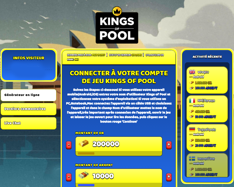 Kings of Pool triche, Kings of Pool triche en ligne, Kings of Pool triche android, Kings of Pool triche Or et Argent gratuit, Kings of Pool triche illimite Or et Argent, Kings of Pool triche ios, Kings of Pool triche ipad, Kings of Pool triche iphone, Kings of Pool gratuit Or et Argent, Kings of Pool triche samsung galaxy, Kings of Pool triche telecharger, Kings of Pool tricher, Kings of Pool tricheu, Kings of Pool tricheur, triche Kings of Pool, code de triche Kings of Pool, Kings of Pool astuce, Kings of Pool astuce en ligne, Kings of Pool astuce android, Kings of Pool astuce gratuit, Kings of Pool astuce ios, Kings of Pool astuce iphone, Kings of Pool astuce telecharger, Kings of Pool astuces, Kings of Pool astuces gratuit, Kings of Pool astuces android, Kings of Pool astuces ios,, Kings of Pool astuces telecharger, Kings of Pool astuce Or et Argent, Kings of Pool cheat, Kings of Pool cheats, Kings of Pool cheat Or et Argent, Kings of Pool cheat gratuit, Kings of Pool cheat iphone, Kings of Pool cheat telecharger, Kings of Pool hack online, Kings of Pool hack generator, Kings of Pool hack android, Kings of Pool hack Or et Argent, Kings of Pool illimité Or et Argent, Kings of Pool mod apk, Kings of Pool mod apk Or et Argent, Kings of Pool mod apk android, Kings of Pool outil, Kings of Pool outil de piratage, Kings of Pool pirater, Kings of Pool pirater en ligne, Kings of Pool pirater android, Kings of Pool pirater Or et Argent, Kings of Pool pirater gratuit, Kings of Pool pirater ios, Kings of Pool pirater iphone, Kings of Pool pirater illimite Or et Argent, Kings of Pool triche jeu, Kings of Pool astuce triche en ligne, comment tricheur sur Kings of Pool, Or et Argent gratuit dans Kings of Pool, Kings of Pool illimite Or et Argent, Kings of Pool hacken, Kings of Pool beschummeln, Kings of Pool betrügen, Kings of Pool betrügen Or et Argent, Kings of Pool unbegrenzt Or et Argent, Kings of Pool Or et Argent frei, Kings of Pool hacken Or et Argent, Kings of Pool Or et Argent gratuito, Kings of Pool mod Or et Argent, Kings of Pool trucchi, Kings of Pool engañar