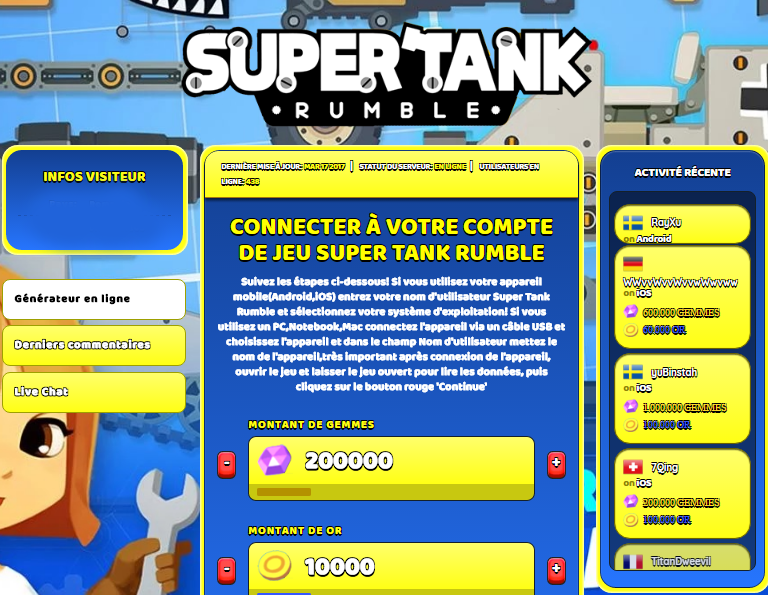 Super Tank Rumble triche, Super Tank Rumble triche en ligne, Super Tank Rumble triche android, Super Tank Rumble triche Gemmes et Or gratuit, Super Tank Rumble triche illimite Gemmes et Or, Super Tank Rumble triche ios, Super Tank Rumble triche ipad, Super Tank Rumble triche iphone, Super Tank Rumble gratuit Gemmes et Or, Super Tank Rumble triche samsung galaxy, Super Tank Rumble triche telecharger, Super Tank Rumble tricher, Super Tank Rumble tricheu, Super Tank Rumble tricheur, triche Super Tank Rumble, code de triche Super Tank Rumble, Super Tank Rumble astuce, Super Tank Rumble astuce en ligne, Super Tank Rumble astuce android, Super Tank Rumble astuce gratuit, Super Tank Rumble astuce ios, Super Tank Rumble astuce iphone, Super Tank Rumble astuce telecharger, Super Tank Rumble astuces, Super Tank Rumble astuces gratuit, Super Tank Rumble astuces android, Super Tank Rumble astuces ios,, Super Tank Rumble astuces telecharger, Super Tank Rumble astuce Gemmes et Or, Super Tank Rumble cheat, Super Tank Rumble cheats, Super Tank Rumble cheat Gemmes et Or, Super Tank Rumble cheat gratuit, Super Tank Rumble cheat iphone, Super Tank Rumble cheat telecharger, Super Tank Rumble hack online, Super Tank Rumble hack generator, Super Tank Rumble hack android, Super Tank Rumble hack Gemmes et Or, Super Tank Rumble illimité Gemmes et Or, Super Tank Rumble mod apk, Super Tank Rumble mod apk Gemmes et Or, Super Tank Rumble mod apk android, Super Tank Rumble outil, Super Tank Rumble outil de piratage, Super Tank Rumble pirater, Super Tank Rumble pirater en ligne, Super Tank Rumble pirater android, Super Tank Rumble pirater Gemmes et Or, Super Tank Rumble pirater gratuit, Super Tank Rumble pirater ios, Super Tank Rumble pirater iphone, Super Tank Rumble pirater illimite Gemmes et Or, Super Tank Rumble triche jeu, Super Tank Rumble astuce triche en ligne, comment tricheur sur Super Tank Rumble, Gemmes et Or gratuit dans Super Tank Rumble, Super Tank Rumble illimite Gemmes et Or, Super Tank Rumble hacken, Super Tank Rumble beschummeln, Super Tank Rumble betrügen, Super Tank Rumble betrügen Gemmes et Or, Super Tank Rumble unbegrenzt Gemmes et Or, Super Tank Rumble Gemmes et Or frei, Super Tank Rumble hacken Gemmes et Or, Super Tank Rumble Gemmes et Or gratuito, Super Tank Rumble mod Gemmes et Or, Super Tank Rumble trucchi, Super Tank Rumble engañar