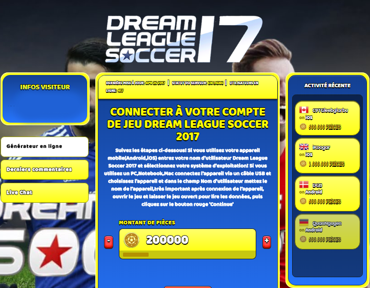 Dream League Soccer 2017 triche, Dream League Soccer 2017 triche en ligne, Dream League Soccer 2017 triche android, Dream League Soccer 2017 triche Pièces gratuit, Dream League Soccer 2017 triche illimite Pièces, Dream League Soccer 2017 triche ios, Dream League Soccer 2017 triche ipad, Dream League Soccer 2017 triche iphone, Dream League Soccer 2017 gratuit Pièces, Dream League Soccer 2017 triche samsung galaxy, Dream League Soccer 2017 triche telecharger, Dream League Soccer 2017 tricher, Dream League Soccer 2017 tricheu, Dream League Soccer 2017 tricheur, triche Dream League Soccer 2017, code de triche Dream League Soccer 2017, Dream League Soccer 2017 astuce, Dream League Soccer 2017 astuce en ligne, Dream League Soccer 2017 astuce android, Dream League Soccer 2017 astuce gratuit, Dream League Soccer 2017 astuce ios, Dream League Soccer 2017 astuce iphone, Dream League Soccer 2017 astuce telecharger, Dream League Soccer 2017 astuces, Dream League Soccer 2017 astuces gratuit, Dream League Soccer 2017 astuces android, Dream League Soccer 2017 astuces ios,, Dream League Soccer 2017 astuces telecharger, Dream League Soccer 2017 astuce Pièces, Dream League Soccer 2017 cheat, Dream League Soccer 2017 cheats, Dream League Soccer 2017 cheat Pièces, Dream League Soccer 2017 cheat gratuit, Dream League Soccer 2017 cheat iphone, Dream League Soccer 2017 cheat telecharger, Dream League Soccer 2017 hack online, Dream League Soccer 2017 hack generator, Dream League Soccer 2017 hack android, Dream League Soccer 2017 hack Pièces, Dream League Soccer 2017 illimité Pièces, Dream League Soccer 2017 mod apk, Dream League Soccer 2017 mod apk Pièces, Dream League Soccer 2017 mod apk android, Dream League Soccer 2017 outil, Dream League Soccer 2017 outil de piratage, Dream League Soccer 2017 pirater, Dream League Soccer 2017 pirater en ligne, Dream League Soccer 2017 pirater android, Dream League Soccer 2017 pirater Pièces, Dream League Soccer 2017 pirater gratuit, Dream League Soccer 2017 pirater ios, Dream League Soccer 2017 pirater iphone, Dream League Soccer 2017 pirater illimite Pièces, Dream League Soccer 2017 triche jeu, Dream League Soccer 2017 astuce triche en ligne, comment tricheur sur Dream League Soccer 2017, Pièces gratuit dans Dream League Soccer 2017, Dream League Soccer 2017 illimite Pièces, Dream League Soccer 2017 hacken, Dream League Soccer 2017 beschummeln, Dream League Soccer 2017 betrügen, Dream League Soccer 2017 betrügen Pièces, Dream League Soccer 2017 unbegrenzt Pièces, Dream League Soccer 2017 Pièces frei, Dream League Soccer 2017 hacken Pièces, Dream League Soccer 2017 Pièces gratuito, Dream League Soccer 2017 mod Pièces, Dream League Soccer 2017 trucchi, Dream League Soccer 2017 engañar