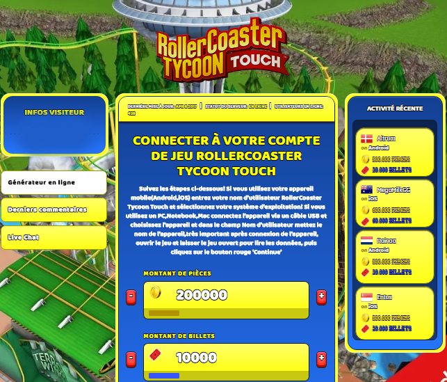 RollerCoaster Tycoon Touch triche, RollerCoaster Tycoon Touch triche en ligne, RollerCoaster Tycoon Touch triche android, RollerCoaster Tycoon Touch triche Pièces et Billets gratuit, RollerCoaster Tycoon Touch triche illimite Pièces et Billets, RollerCoaster Tycoon Touch triche ios, RollerCoaster Tycoon Touch triche ipad, RollerCoaster Tycoon Touch triche iphone, RollerCoaster Tycoon Touch gratuit Pièces et Billets, RollerCoaster Tycoon Touch triche samsung galaxy, RollerCoaster Tycoon Touch triche telecharger, RollerCoaster Tycoon Touch tricher, RollerCoaster Tycoon Touch tricheu, RollerCoaster Tycoon Touch tricheur, triche RollerCoaster Tycoon Touch, code de triche RollerCoaster Tycoon Touch, RollerCoaster Tycoon Touch astuce, RollerCoaster Tycoon Touch astuce en ligne, RollerCoaster Tycoon Touch astuce android, RollerCoaster Tycoon Touch astuce gratuit, RollerCoaster Tycoon Touch astuce ios, RollerCoaster Tycoon Touch astuce iphone, RollerCoaster Tycoon Touch astuce telecharger, RollerCoaster Tycoon Touch astuces, RollerCoaster Tycoon Touch astuces gratuit, RollerCoaster Tycoon Touch astuces android, RollerCoaster Tycoon Touch astuces ios,, RollerCoaster Tycoon Touch astuces telecharger, RollerCoaster Tycoon Touch astuce Pièces et Billets, RollerCoaster Tycoon Touch cheat, RollerCoaster Tycoon Touch cheats, RollerCoaster Tycoon Touch cheat Pièces et Billets, RollerCoaster Tycoon Touch cheat gratuit, RollerCoaster Tycoon Touch cheat iphone, RollerCoaster Tycoon Touch cheat telecharger, RollerCoaster Tycoon Touch hack online, RollerCoaster Tycoon Touch hack generator, RollerCoaster Tycoon Touch hack android, RollerCoaster Tycoon Touch hack Pièces et Billets, RollerCoaster Tycoon Touch illimité Pièces et Billets, RollerCoaster Tycoon Touch mod apk, RollerCoaster Tycoon Touch mod apk Pièces et Billets, RollerCoaster Tycoon Touch mod apk android, RollerCoaster Tycoon Touch outil, RollerCoaster Tycoon Touch outil de piratage, RollerCoaster Tycoon Touch pirater, RollerCoaster Tycoon Touch pirater en ligne, RollerCoaster Tycoon Touch pirater android, RollerCoaster Tycoon Touch pirater Pièces et Billets, RollerCoaster Tycoon Touch pirater gratuit, RollerCoaster Tycoon Touch pirater ios, RollerCoaster Tycoon Touch pirater iphone, RollerCoaster Tycoon Touch pirater illimite Pièces et Billets, RollerCoaster Tycoon Touch triche jeu, RollerCoaster Tycoon Touch astuce triche en ligne, comment tricheur sur RollerCoaster Tycoon Touch, Pièces et Billets gratuit dans RollerCoaster Tycoon Touch, RollerCoaster Tycoon Touch illimite Pièces et Billets, RollerCoaster Tycoon Touch hacken, RollerCoaster Tycoon Touch beschummeln, RollerCoaster Tycoon Touch betrügen, RollerCoaster Tycoon Touch betrügen Pièces et Billets, RollerCoaster Tycoon Touch unbegrenzt Pièces et Billets, RollerCoaster Tycoon Touch Pièces et Billets frei, RollerCoaster Tycoon Touch hacken Pièces et Billets, RollerCoaster Tycoon Touch Pièces et Billets gratuito, RollerCoaster Tycoon Touch mod Pièces et Billets, RollerCoaster Tycoon Touch trucchi, RollerCoaster Tycoon Touch engañar