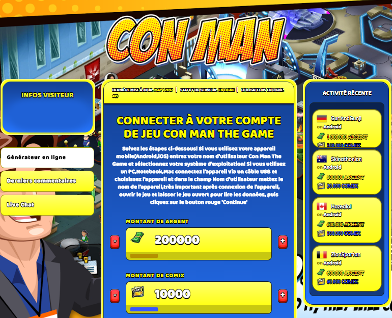 Con Man The Game triche, Con Man The Game triche en ligne, Con Man The Game triche android, Con Man The Game triche Argent et Comix gratuit, Con Man The Game triche illimite Argent et Comix, Con Man The Game triche ios, Con Man The Game triche ipad, Con Man The Game triche iphone, Con Man The Game gratuit Argent et Comix, Con Man The Game triche samsung galaxy, Con Man The Game triche telecharger, Con Man The Game tricher, Con Man The Game tricheu, Con Man The Game tricheur, triche Con Man The Game, code de triche Con Man The Game, Con Man The Game astuce, Con Man The Game astuce en ligne, Con Man The Game astuce android, Con Man The Game astuce gratuit, Con Man The Game astuce ios, Con Man The Game astuce iphone, Con Man The Game astuce telecharger, Con Man The Game astuces, Con Man The Game astuces gratuit, Con Man The Game astuces android, Con Man The Game astuces ios,, Con Man The Game astuces telecharger, Con Man The Game astuce Argent et Comix, Con Man The Game cheat, Con Man The Game cheats, Con Man The Game cheat Argent et Comix, Con Man The Game cheat gratuit, Con Man The Game cheat iphone, Con Man The Game cheat telecharger, Con Man The Game hack online, Con Man The Game hack generator, Con Man The Game hack android, Con Man The Game hack Argent et Comix, Con Man The Game illimité Argent et Comix, Con Man The Game mod apk, Con Man The Game mod apk Argent et Comix, Con Man The Game mod apk android, Con Man The Game outil, Con Man The Game outil de piratage, Con Man The Game pirater, Con Man The Game pirater en ligne, Con Man The Game pirater android, Con Man The Game pirater Argent et Comix, Con Man The Game pirater gratuit, Con Man The Game pirater ios, Con Man The Game pirater iphone, Con Man The Game pirater illimite Argent et Comix, Con Man The Game triche jeu, Con Man The Game astuce triche en ligne, comment tricheur sur Con Man The Game, Argent et Comix gratuit dans Con Man The Game, Con Man The Game illimite Argent et Comix, Con Man The Game hacken, Con Man The Game beschummeln, Con Man The Game betrügen, Con Man The Game betrügen Argent et Comix, Con Man The Game unbegrenzt Argent et Comix, Con Man The Game Argent et Comix frei, Con Man The Game hacken Argent et Comix, Con Man The Game Argent et Comix gratuito, Con Man The Game mod Argent et Comix, Con Man The Game trucchi, Con Man The Game engañar