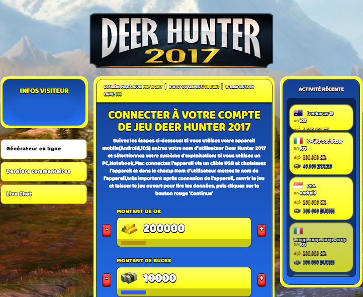 Deer Hunter 2017 triche, Deer Hunter 2017 triche en ligne, Deer Hunter 2017 triche android, Deer Hunter 2017 triche Or et Bucks gratuit, Deer Hunter 2017 triche illimite Or et Bucks, Deer Hunter 2017 triche ios, Deer Hunter 2017 triche ipad, Deer Hunter 2017 triche iphone, Deer Hunter 2017 gratuit Or et Bucks, Deer Hunter 2017 triche samsung galaxy, Deer Hunter 2017 triche telecharger, Deer Hunter 2017 tricher, Deer Hunter 2017 tricheu, Deer Hunter 2017 tricheur, triche Deer Hunter 2017, code de triche Deer Hunter 2017, Deer Hunter 2017 astuce, Deer Hunter 2017 astuce en ligne, Deer Hunter 2017 astuce android, Deer Hunter 2017 astuce gratuit, Deer Hunter 2017 astuce ios, Deer Hunter 2017 astuce iphone, Deer Hunter 2017 astuce telecharger, Deer Hunter 2017 astuces, Deer Hunter 2017 astuces gratuit, Deer Hunter 2017 astuces android, Deer Hunter 2017 astuces ios,, Deer Hunter 2017 astuces telecharger, Deer Hunter 2017 astuce Or et Bucks, Deer Hunter 2017 cheat, Deer Hunter 2017 cheats, Deer Hunter 2017 cheat Or et Bucks, Deer Hunter 2017 cheat gratuit, Deer Hunter 2017 cheat iphone, Deer Hunter 2017 cheat telecharger, Deer Hunter 2017 hack online, Deer Hunter 2017 hack generator, Deer Hunter 2017 hack android, Deer Hunter 2017 hack Or et Bucks, Deer Hunter 2017 illimité Or et Bucks, Deer Hunter 2017 mod apk, Deer Hunter 2017 mod apk Or et Bucks, Deer Hunter 2017 mod apk android, Deer Hunter 2017 outil, Deer Hunter 2017 outil de piratage, Deer Hunter 2017 pirater, Deer Hunter 2017 pirater en ligne, Deer Hunter 2017 pirater android, Deer Hunter 2017 pirater Or et Bucks, Deer Hunter 2017 pirater gratuit, Deer Hunter 2017 pirater ios, Deer Hunter 2017 pirater iphone, Deer Hunter 2017 pirater illimite Or et Bucks, Deer Hunter 2017 triche jeu, Deer Hunter 2017 astuce triche en ligne, comment tricheur sur Deer Hunter 2017, Or et Bucks gratuit dans Deer Hunter 2017, Deer Hunter 2017 illimite Or et Bucks, Deer Hunter 2017 hacken, Deer Hunter 2017 beschummeln, Deer Hunter 2017 betrügen, Deer Hunter 2017 betrügen Or et Bucks, Deer Hunter 2017 unbegrenzt Or et Bucks, Deer Hunter 2017 Or et Bucks frei, Deer Hunter 2017 hacken Or et Bucks, Deer Hunter 2017 Or et Bucks gratuito, Deer Hunter 2017 mod Or et Bucks, Deer Hunter 2017 trucchi, Deer Hunter 2017 engañar
