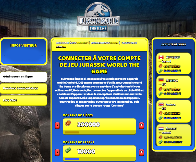 Jurassic World The Game triche, Jurassic World The Game triche en ligne, Jurassic World The Game triche android, Jurassic World The Game triche Pièces et Argent gratuit, Jurassic World The Game triche illimite Pièces et Argent, Jurassic World The Game triche ios, Jurassic World The Game triche ipad, Jurassic World The Game triche iphone, Jurassic World The Game gratuit Pièces et Argent, Jurassic World The Game triche samsung galaxy, Jurassic World The Game triche telecharger, Jurassic World The Game tricher, Jurassic World The Game tricheu, Jurassic World The Game tricheur, triche Jurassic World The Game, code de triche Jurassic World The Game, Jurassic World The Game astuce, Jurassic World The Game astuce en ligne, Jurassic World The Game astuce android, Jurassic World The Game astuce gratuit, Jurassic World The Game astuce ios, Jurassic World The Game astuce iphone, Jurassic World The Game astuce telecharger, Jurassic World The Game astuces, Jurassic World The Game astuces gratuit, Jurassic World The Game astuces android, Jurassic World The Game astuces ios,, Jurassic World The Game astuces telecharger, Jurassic World The Game astuce Pièces et Argent, Jurassic World The Game cheat, Jurassic World The Game cheats, Jurassic World The Game cheat Pièces et Argent, Jurassic World The Game cheat gratuit, Jurassic World The Game cheat iphone, Jurassic World The Game cheat telecharger, Jurassic World The Game hack online, Jurassic World The Game hack generator, Jurassic World The Game hack android, Jurassic World The Game hack Pièces et Argent, Jurassic World The Game illimité Pièces et Argent, Jurassic World The Game mod apk, Jurassic World The Game mod apk Pièces et Argent, Jurassic World The Game mod apk android, Jurassic World The Game outil, Jurassic World The Game outil de piratage, Jurassic World The Game pirater, Jurassic World The Game pirater en ligne, Jurassic World The Game pirater android, Jurassic World The Game pirater Pièces et Argent, Jurassic World The Game pirater gratuit, Jurassic World The Game pirater ios, Jurassic World The Game pirater iphone, Jurassic World The Game pirater illimite Pièces et Argent, Jurassic World The Game triche jeu, Jurassic World The Game astuce triche en ligne, comment tricheur sur Jurassic World The Game, Pièces et Argent gratuit dans Jurassic World The Game, Jurassic World The Game illimite Pièces et Argent, Jurassic World The Game hacken, Jurassic World The Game beschummeln, Jurassic World The Game betrügen, Jurassic World The Game betrügen Pièces et Argent, Jurassic World The Game unbegrenzt Pièces et Argent, Jurassic World The Game Pièces et Argent frei, Jurassic World The Game hacken Pièces et Argent, Jurassic World The Game Pièces et Argent gratuito, Jurassic World The Game mod Pièces et Argent, Jurassic World The Game trucchi, Jurassic World The Game engañar