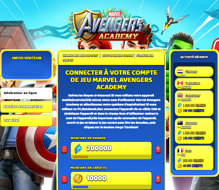 Marvel Avengers Academy triche, Marvel Avengers Academy triche en ligne, Marvel Avengers Academy triche android, Marvel Avengers Academy triche Shards et Crédits gratuit, Marvel Avengers Academy triche illimite Shards et Crédits, Marvel Avengers Academy triche ios, Marvel Avengers Academy triche ipad, Marvel Avengers Academy triche iphone, Marvel Avengers Academy gratuit Shards et Crédits, Marvel Avengers Academy triche samsung galaxy, Marvel Avengers Academy triche telecharger, Marvel Avengers Academy tricher, Marvel Avengers Academy tricheu, Marvel Avengers Academy tricheur, triche Marvel Avengers Academy, code de triche Marvel Avengers Academy, Marvel Avengers Academy astuce, Marvel Avengers Academy astuce en ligne, Marvel Avengers Academy astuce android, Marvel Avengers Academy astuce gratuit, Marvel Avengers Academy astuce ios, Marvel Avengers Academy astuce iphone, Marvel Avengers Academy astuce telecharger, Marvel Avengers Academy astuces, Marvel Avengers Academy astuces gratuit, Marvel Avengers Academy astuces android, Marvel Avengers Academy astuces ios,, Marvel Avengers Academy astuces telecharger, Marvel Avengers Academy astuce Shards et Crédits, Marvel Avengers Academy cheat, Marvel Avengers Academy cheats, Marvel Avengers Academy cheat Shards et Crédits, Marvel Avengers Academy cheat gratuit, Marvel Avengers Academy cheat iphone, Marvel Avengers Academy cheat telecharger, Marvel Avengers Academy hack online, Marvel Avengers Academy hack generator, Marvel Avengers Academy hack android, Marvel Avengers Academy hack Shards et Crédits, Marvel Avengers Academy illimité Shards et Crédits, Marvel Avengers Academy mod apk, Marvel Avengers Academy mod apk Shards et Crédits, Marvel Avengers Academy mod apk android, Marvel Avengers Academy outil, Marvel Avengers Academy outil de piratage, Marvel Avengers Academy pirater, Marvel Avengers Academy pirater en ligne, Marvel Avengers Academy pirater android, Marvel Avengers Academy pirater Shards et Crédits, Marvel Avengers Academy pirater gratuit, Marvel Avengers Academy pirater ios, Marvel Avengers Academy pirater iphone, Marvel Avengers Academy pirater illimite Shards et Crédits, Marvel Avengers Academy triche jeu, Marvel Avengers Academy astuce triche en ligne, comment tricheur sur Marvel Avengers Academy, Shards et Crédits gratuit dans Marvel Avengers Academy, Marvel Avengers Academy illimite Shards et Crédits, Marvel Avengers Academy hacken, Marvel Avengers Academy beschummeln, Marvel Avengers Academy betrügen, Marvel Avengers Academy betrügen Shards et Crédits, Marvel Avengers Academy unbegrenzt Shards et Crédits, Marvel Avengers Academy Shards et Crédits frei, Marvel Avengers Academy hacken Shards et Crédits, Marvel Avengers Academy Shards et Crédits gratuito, Marvel Avengers Academy mod Shards et Crédits, Marvel Avengers Academy trucchi, Marvel Avengers Academy engañar
