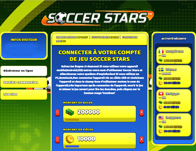 Soccer Stars triche, Soccer Stars triche en ligne, Soccer Stars triche android, Soccer Stars triche Bucks et Pièces gratuit, Soccer Stars triche illimite Bucks et Pièces, Soccer Stars triche ios, Soccer Stars triche ipad, Soccer Stars triche iphone, Soccer Stars gratuit Bucks et Pièces, Soccer Stars triche samsung galaxy, Soccer Stars triche telecharger, Soccer Stars tricher, Soccer Stars tricheu, Soccer Stars tricheur, triche Soccer Stars, code de triche Soccer Stars, Soccer Stars astuce, Soccer Stars astuce en ligne, Soccer Stars astuce android, Soccer Stars astuce gratuit, Soccer Stars astuce ios, Soccer Stars astuce iphone, Soccer Stars astuce telecharger, Soccer Stars astuces, Soccer Stars astuces gratuit, Soccer Stars astuces android, Soccer Stars astuces ios,, Soccer Stars astuces telecharger, Soccer Stars astuce Bucks et Pièces, Soccer Stars cheat, Soccer Stars cheats, Soccer Stars cheat Bucks et Pièces, Soccer Stars cheat gratuit, Soccer Stars cheat iphone, Soccer Stars cheat telecharger, Soccer Stars hack online, Soccer Stars hack generator, Soccer Stars hack android, Soccer Stars hack Bucks et Pièces, Soccer Stars illimité Bucks et Pièces, Soccer Stars mod apk, Soccer Stars mod apk Bucks et Pièces, Soccer Stars mod apk android, Soccer Stars outil, Soccer Stars outil de piratage, Soccer Stars pirater, Soccer Stars pirater en ligne, Soccer Stars pirater android, Soccer Stars pirater Bucks et Pièces, Soccer Stars pirater gratuit, Soccer Stars pirater ios, Soccer Stars pirater iphone, Soccer Stars pirater illimite Bucks et Pièces, Soccer Stars triche jeu, Soccer Stars astuce triche en ligne, comment tricheur sur Soccer Stars, Bucks et Pièces gratuit dans Soccer Stars, Soccer Stars illimite Bucks et Pièces, Soccer Stars hacken, Soccer Stars beschummeln, Soccer Stars betrügen, Soccer Stars betrügen Bucks et Pièces, Soccer Stars unbegrenzt Bucks et Pièces, Soccer Stars Bucks et Pièces frei, Soccer Stars hacken Bucks et Pièces, Soccer Stars Bucks et Pièces gratuito, Soccer Stars mod Bucks et Pièces, Soccer Stars trucchi, Soccer Stars engañar