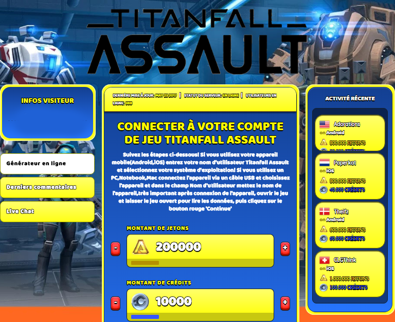 Titanfall Assault triche, Titanfall Assault triche en ligne, Titanfall Assault triche android, Titanfall Assault triche Jetons et Crédits gratuit, Titanfall Assault triche illimite Jetons et Crédits, Titanfall Assault triche ios, Titanfall Assault triche ipad, Titanfall Assault triche iphone, Titanfall Assault gratuit Jetons et Crédits, Titanfall Assault triche samsung galaxy, Titanfall Assault triche telecharger, Titanfall Assault tricher, Titanfall Assault tricheu, Titanfall Assault tricheur, triche Titanfall Assault, code de triche Titanfall Assault, Titanfall Assault astuce, Titanfall Assault astuce en ligne, Titanfall Assault astuce android, Titanfall Assault astuce gratuit, Titanfall Assault astuce ios, Titanfall Assault astuce iphone, Titanfall Assault astuce telecharger, Titanfall Assault astuces, Titanfall Assault astuces gratuit, Titanfall Assault astuces android, Titanfall Assault astuces ios,, Titanfall Assault astuces telecharger, Titanfall Assault astuce Jetons et Crédits, Titanfall Assault cheat, Titanfall Assault cheats, Titanfall Assault cheat Jetons et Crédits, Titanfall Assault cheat gratuit, Titanfall Assault cheat iphone, Titanfall Assault cheat telecharger, Titanfall Assault hack online, Titanfall Assault hack generator, Titanfall Assault hack android, Titanfall Assault hack Jetons et Crédits, Titanfall Assault illimité Jetons et Crédits, Titanfall Assault mod apk, Titanfall Assault mod apk Jetons et Crédits, Titanfall Assault mod apk android, Titanfall Assault outil, Titanfall Assault outil de piratage, Titanfall Assault pirater, Titanfall Assault pirater en ligne, Titanfall Assault pirater android, Titanfall Assault pirater Jetons et Crédits, Titanfall Assault pirater gratuit, Titanfall Assault pirater ios, Titanfall Assault pirater iphone, Titanfall Assault pirater illimite Jetons et Crédits, Titanfall Assault triche jeu, Titanfall Assault astuce triche en ligne, comment tricheur sur Titanfall Assault, Jetons et Crédits gratuit dans Titanfall Assault, Titanfall Assault illimite Jetons et Crédits, Titanfall Assault hacken, Titanfall Assault beschummeln, Titanfall Assault betrügen, Titanfall Assault betrügen Jetons et Crédits, Titanfall Assault unbegrenzt Jetons et Crédits, Titanfall Assault Jetons et Crédits frei, Titanfall Assault hacken Jetons et Crédits, Titanfall Assault Jetons et Crédits gratuito, Titanfall Assault mod Jetons et Crédits, Titanfall Assault trucchi, Titanfall Assault engañar