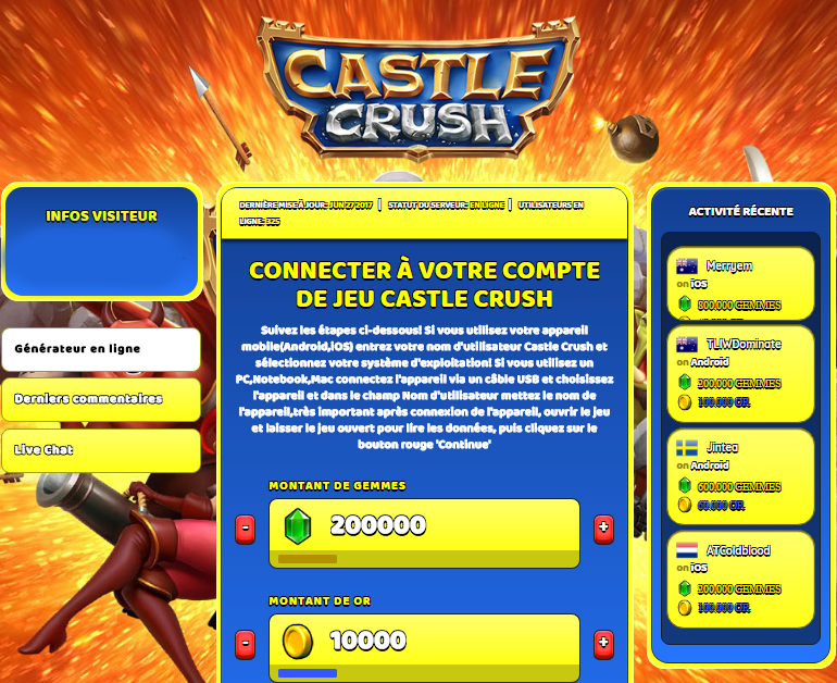 Castle Crush triche, Castle Crush triche en ligne, Castle Crush triche android, Castle Crush triche Gemmes et Or gratuit, Castle Crush triche illimite Gemmes et Or, Castle Crush triche ios, Castle Crush triche ipad, Castle Crush triche iphone, Castle Crush gratuit Gemmes et Or, Castle Crush triche samsung galaxy, Castle Crush triche telecharger, Castle Crush tricher, Castle Crush tricheu, Castle Crush tricheur, triche Castle Crush, code de triche Castle Crush, Castle Crush astuce, Castle Crush astuce en ligne, Castle Crush astuce android, Castle Crush astuce gratuit, Castle Crush astuce ios, Castle Crush astuce iphone, Castle Crush astuce telecharger, Castle Crush astuces, Castle Crush astuces gratuit, Castle Crush astuces android, Castle Crush astuces ios,, Castle Crush astuces telecharger, Castle Crush astuce Gemmes et Or, Castle Crush cheat, Castle Crush cheats, Castle Crush cheat Gemmes et Or, Castle Crush cheat gratuit, Castle Crush cheat iphone, Castle Crush cheat telecharger, Castle Crush hack online, Castle Crush hack generator, Castle Crush hack android, Castle Crush hack Gemmes et Or, Castle Crush illimité Gemmes et Or, Castle Crush mod apk, Castle Crush mod apk Gemmes et Or, Castle Crush mod apk android, Castle Crush outil, Castle Crush outil de piratage, Castle Crush pirater, Castle Crush pirater en ligne, Castle Crush pirater android, Castle Crush pirater Gemmes et Or, Castle Crush pirater gratuit, Castle Crush pirater ios, Castle Crush pirater iphone, Castle Crush pirater illimite Gemmes et Or, Castle Crush triche jeu, Castle Crush astuce triche en ligne, comment tricheur sur Castle Crush, Gemmes et Or gratuit dans Castle Crush, Castle Crush illimite Gemmes et Or, Castle Crush hacken, Castle Crush beschummeln, Castle Crush betrügen, Castle Crush betrügen Gemmes et Or, Castle Crush unbegrenzt Gemmes et Or, Castle Crush Gemmes et Or frei, Castle Crush hacken Gemmes et Or, Castle Crush Gemmes et Or gratuito, Castle Crush mod Gemmes et Or, Castle Crush trucchi, Castle Crush engañar
