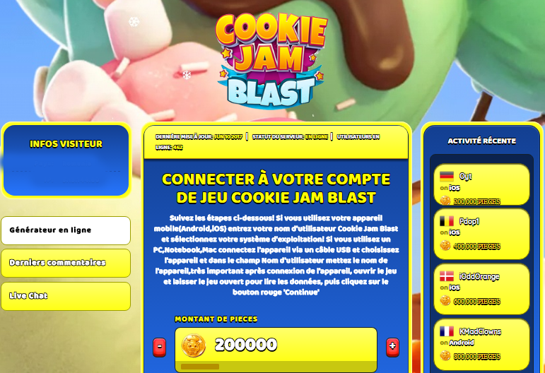 Cookie Jam Blast triche, Cookie Jam Blast triche en ligne, Cookie Jam Blast triche android, Cookie Jam Blast triche Pieces gratuit, Cookie Jam Blast triche illimite Pieces, Cookie Jam Blast triche ios, Cookie Jam Blast triche ipad, Cookie Jam Blast triche iphone, Cookie Jam Blast gratuit Pieces, Cookie Jam Blast triche samsung galaxy, Cookie Jam Blast triche telecharger, Cookie Jam Blast tricher, Cookie Jam Blast tricheu, Cookie Jam Blast tricheur, triche Cookie Jam Blast, code de triche Cookie Jam Blast, Cookie Jam Blast astuce, Cookie Jam Blast astuce en ligne, Cookie Jam Blast astuce android, Cookie Jam Blast astuce gratuit, Cookie Jam Blast astuce ios, Cookie Jam Blast astuce iphone, Cookie Jam Blast astuce telecharger, Cookie Jam Blast astuces, Cookie Jam Blast astuces gratuit, Cookie Jam Blast astuces android, Cookie Jam Blast astuces ios,, Cookie Jam Blast astuces telecharger, Cookie Jam Blast astuce Pieces, Cookie Jam Blast cheat, Cookie Jam Blast cheats, Cookie Jam Blast cheat Pieces, Cookie Jam Blast cheat gratuit, Cookie Jam Blast cheat iphone, Cookie Jam Blast cheat telecharger, Cookie Jam Blast hack online, Cookie Jam Blast hack generator, Cookie Jam Blast hack android, Cookie Jam Blast hack Pieces, Cookie Jam Blast illimité Pieces, Cookie Jam Blast mod apk, Cookie Jam Blast mod apk Pieces, Cookie Jam Blast mod apk android, Cookie Jam Blast outil, Cookie Jam Blast outil de piratage, Cookie Jam Blast pirater, Cookie Jam Blast pirater en ligne, Cookie Jam Blast pirater android, Cookie Jam Blast pirater Pieces, Cookie Jam Blast pirater gratuit, Cookie Jam Blast pirater ios, Cookie Jam Blast pirater iphone, Cookie Jam Blast pirater illimite Pieces, Cookie Jam Blast triche jeu, Cookie Jam Blast astuce triche en ligne, comment tricheur sur Cookie Jam Blast, Pieces gratuit dans Cookie Jam Blast, Cookie Jam Blast illimite Pieces, Cookie Jam Blast hacken, Cookie Jam Blast beschummeln, Cookie Jam Blast betrügen, Cookie Jam Blast betrügen Pieces, Cookie Jam Blast unbegrenzt Pieces, Cookie Jam Blast Pieces frei, Cookie Jam Blast hacken Pieces, Cookie Jam Blast Pieces gratuito, Cookie Jam Blast mod Pieces, Cookie Jam Blast trucchi, Cookie Jam Blast engañar