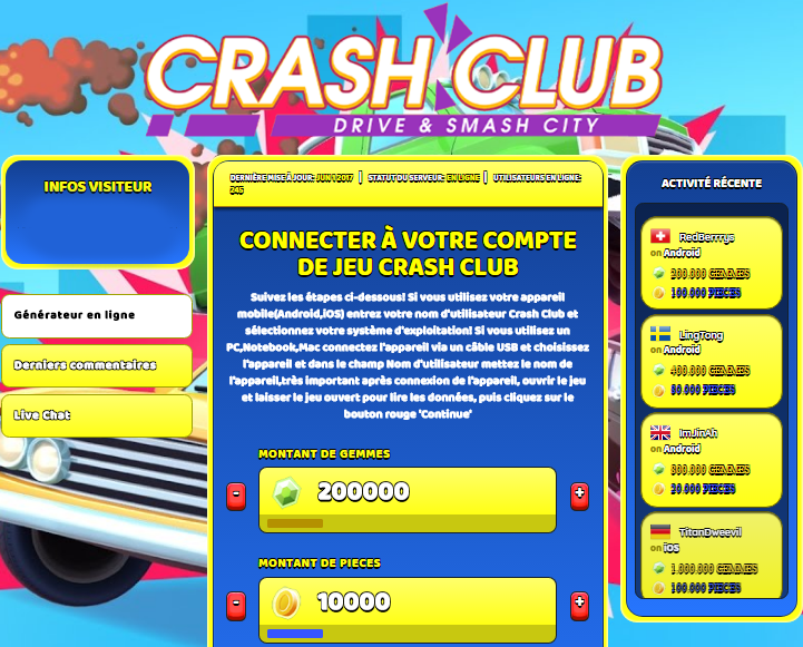 Crash Club triche, Crash Club triche en ligne, Crash Club triche android, Crash Club triche Gemmes et Pieces gratuit, Crash Club triche illimite Gemmes et Pieces, Crash Club triche ios, Crash Club triche ipad, Crash Club triche iphone, Crash Club gratuit Gemmes et Pieces, Crash Club triche samsung galaxy, Crash Club triche telecharger, Crash Club tricher, Crash Club tricheu, Crash Club tricheur, triche Crash Club, code de triche Crash Club, Crash Club astuce, Crash Club astuce en ligne, Crash Club astuce android, Crash Club astuce gratuit, Crash Club astuce ios, Crash Club astuce iphone, Crash Club astuce telecharger, Crash Club astuces, Crash Club astuces gratuit, Crash Club astuces android, Crash Club astuces ios,, Crash Club astuces telecharger, Crash Club astuce Gemmes et Pieces, Crash Club cheat, Crash Club cheats, Crash Club cheat Gemmes et Pieces, Crash Club cheat gratuit, Crash Club cheat iphone, Crash Club cheat telecharger, Crash Club hack online, Crash Club hack generator, Crash Club hack android, Crash Club hack Gemmes et Pieces, Crash Club illimité Gemmes et Pieces, Crash Club mod apk, Crash Club mod apk Gemmes et Pieces, Crash Club mod apk android, Crash Club outil, Crash Club outil de piratage, Crash Club pirater, Crash Club pirater en ligne, Crash Club pirater android, Crash Club pirater Gemmes et Pieces, Crash Club pirater gratuit, Crash Club pirater ios, Crash Club pirater iphone, Crash Club pirater illimite Gemmes et Pieces, Crash Club triche jeu, Crash Club astuce triche en ligne, comment tricheur sur Crash Club, Gemmes et Pieces gratuit dans Crash Club, Crash Club illimite Gemmes et Pieces, Crash Club hacken, Crash Club beschummeln, Crash Club betrügen, Crash Club betrügen Gemmes et Pieces, Crash Club unbegrenzt Gemmes et Pieces, Crash Club Gemmes et Pieces frei, Crash Club hacken Gemmes et Pieces, Crash Club Gemmes et Pieces gratuito, Crash Club mod Gemmes et Pieces, Crash Club trucchi, Crash Club engañar