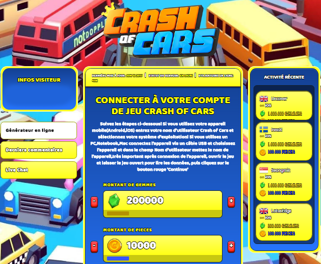 Crash of Cars triche, Crash of Cars triche en ligne, Crash of Cars triche android, Crash of Cars triche Gemmes et Pieces gratuit, Crash of Cars triche illimite Gemmes et Pieces, Crash of Cars triche ios, Crash of Cars triche ipad, Crash of Cars triche iphone, Crash of Cars gratuit Gemmes et Pieces, Crash of Cars triche samsung galaxy, Crash of Cars triche telecharger, Crash of Cars tricher, Crash of Cars tricheu, Crash of Cars tricheur, triche Crash of Cars, code de triche Crash of Cars, Crash of Cars astuce, Crash of Cars astuce en ligne, Crash of Cars astuce android, Crash of Cars astuce gratuit, Crash of Cars astuce ios, Crash of Cars astuce iphone, Crash of Cars astuce telecharger, Crash of Cars astuces, Crash of Cars astuces gratuit, Crash of Cars astuces android, Crash of Cars astuces ios,, Crash of Cars astuces telecharger, Crash of Cars astuce Gemmes et Pieces, Crash of Cars cheat, Crash of Cars cheats, Crash of Cars cheat Gemmes et Pieces, Crash of Cars cheat gratuit, Crash of Cars cheat iphone, Crash of Cars cheat telecharger, Crash of Cars hack online, Crash of Cars hack generator, Crash of Cars hack android, Crash of Cars hack Gemmes et Pieces, Crash of Cars illimité Gemmes et Pieces, Crash of Cars mod apk, Crash of Cars mod apk Gemmes et Pieces, Crash of Cars mod apk android, Crash of Cars outil, Crash of Cars outil de piratage, Crash of Cars pirater, Crash of Cars pirater en ligne, Crash of Cars pirater android, Crash of Cars pirater Gemmes et Pieces, Crash of Cars pirater gratuit, Crash of Cars pirater ios, Crash of Cars pirater iphone, Crash of Cars pirater illimite Gemmes et Pieces, Crash of Cars triche jeu, Crash of Cars astuce triche en ligne, comment tricheur sur Crash of Cars, Gemmes et Pieces gratuit dans Crash of Cars, Crash of Cars illimite Gemmes et Pieces, Crash of Cars hacken, Crash of Cars beschummeln, Crash of Cars betrügen, Crash of Cars betrügen Gemmes et Pieces, Crash of Cars unbegrenzt Gemmes et Pieces, Crash of Cars Gemmes et Pieces frei, Crash of Cars hacken Gemmes et Pieces, Crash of Cars Gemmes et Pieces gratuito, Crash of Cars mod Gemmes et Pieces, Crash of Cars trucchi, Crash of Cars engañar