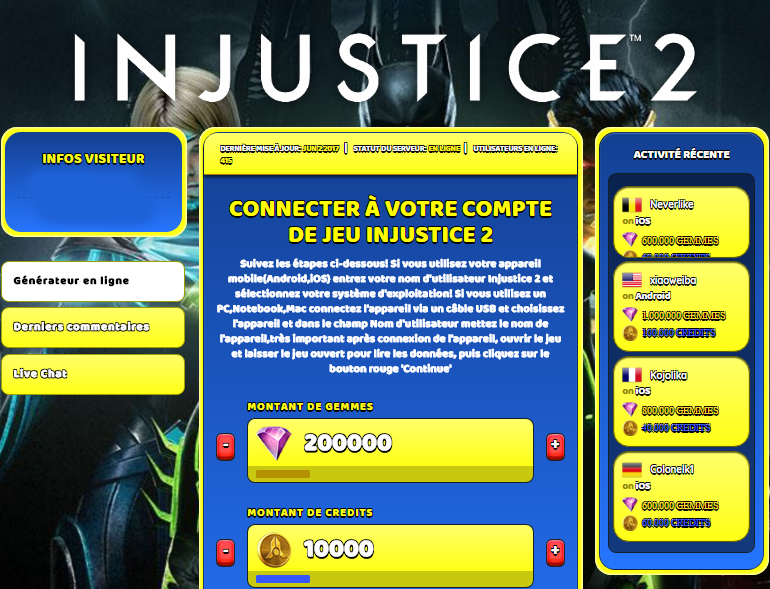 Injustice 2 triche, Injustice 2 triche en ligne, Injustice 2 triche android, Injustice 2 triche Gemmes et Credits gratuit, Injustice 2 triche illimite Gemmes et Credits, Injustice 2 triche ios, Injustice 2 triche ipad, Injustice 2 triche iphone, Injustice 2 gratuit Gemmes et Credits, Injustice 2 triche samsung galaxy, Injustice 2 triche telecharger, Injustice 2 tricher, Injustice 2 tricheu, Injustice 2 tricheur, triche Injustice 2, code de triche Injustice 2, Injustice 2 astuce, Injustice 2 astuce en ligne, Injustice 2 astuce android, Injustice 2 astuce gratuit, Injustice 2 astuce ios, Injustice 2 astuce iphone, Injustice 2 astuce telecharger, Injustice 2 astuces, Injustice 2 astuces gratuit, Injustice 2 astuces android, Injustice 2 astuces ios,, Injustice 2 astuces telecharger, Injustice 2 astuce Gemmes et Credits, Injustice 2 cheat, Injustice 2 cheats, Injustice 2 cheat Gemmes et Credits, Injustice 2 cheat gratuit, Injustice 2 cheat iphone, Injustice 2 cheat telecharger, Injustice 2 hack online, Injustice 2 hack generator, Injustice 2 hack android, Injustice 2 hack Gemmes et Credits, Injustice 2 illimité Gemmes et Credits, Injustice 2 mod apk, Injustice 2 mod apk Gemmes et Credits, Injustice 2 mod apk android, Injustice 2 outil, Injustice 2 outil de piratage, Injustice 2 pirater, Injustice 2 pirater en ligne, Injustice 2 pirater android, Injustice 2 pirater Gemmes et Credits, Injustice 2 pirater gratuit, Injustice 2 pirater ios, Injustice 2 pirater iphone, Injustice 2 pirater illimite Gemmes et Credits, Injustice 2 triche jeu, Injustice 2 astuce triche en ligne, comment tricheur sur Injustice 2, Gemmes et Credits gratuit dans Injustice 2, Injustice 2 illimite Gemmes et Credits, Injustice 2 hacken, Injustice 2 beschummeln, Injustice 2 betrügen, Injustice 2 betrügen Gemmes et Credits, Injustice 2 unbegrenzt Gemmes et Credits, Injustice 2 Gemmes et Credits frei, Injustice 2 hacken Gemmes et Credits, Injustice 2 Gemmes et Credits gratuito, Injustice 2 mod Gemmes et Credits, Injustice 2 trucchi, Injustice 2 engañar