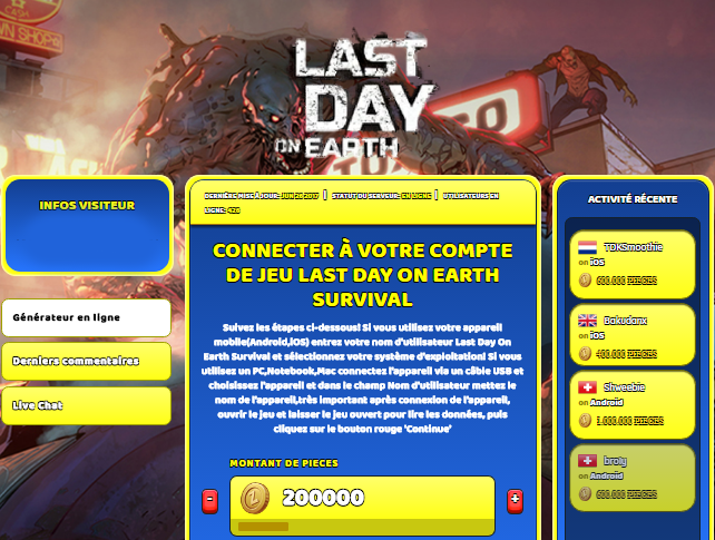 Last Day On Earth Survival triche, Last Day On Earth Survival triche en ligne, Last Day On Earth Survival triche android, Last Day On Earth Survival triche Pieces gratuit, Last Day On Earth Survival triche illimite Pieces, Last Day On Earth Survival triche ios, Last Day On Earth Survival triche ipad, Last Day On Earth Survival triche iphone, Last Day On Earth Survival gratuit Pieces, Last Day On Earth Survival triche samsung galaxy, Last Day On Earth Survival triche telecharger, Last Day On Earth Survival tricher, Last Day On Earth Survival tricheu, Last Day On Earth Survival tricheur, triche Last Day On Earth Survival, code de triche Last Day On Earth Survival, Last Day On Earth Survival astuce, Last Day On Earth Survival astuce en ligne, Last Day On Earth Survival astuce android, Last Day On Earth Survival astuce gratuit, Last Day On Earth Survival astuce ios, Last Day On Earth Survival astuce iphone, Last Day On Earth Survival astuce telecharger, Last Day On Earth Survival astuces, Last Day On Earth Survival astuces gratuit, Last Day On Earth Survival astuces android, Last Day On Earth Survival astuces ios, Last Day On Earth Survival astuces telecharger, Last Day On Earth Survival astuce Pieces, Last Day On Earth Survival cheat, Last Day On Earth Survival cheats, Last Day On Earth Survival cheat Pieces, Last Day On Earth Survival cheat gratuit, Last Day On Earth Survival cheat iphone, Last Day On Earth Survival cheat telecharger, Last Day On Earth Survival hack online, Last Day On Earth Survival hack generator, Last Day On Earth Survival hack android, Last Day On Earth Survival hack Pieces, Last Day On Earth Survival illimité Pieces, Last Day On Earth Survival mod apk, Last Day On Earth Survival mod apk Pieces, Last Day On Earth Survival mod apk android, Last Day On Earth Survival outil, Last Day On Earth Survival outil de piratage, Last Day On Earth Survival pirater, Last Day On Earth Survival pirater en ligne, Last Day On Earth Survival pirater android, Last Day On Earth Survival pirater Pieces, Last Day On Earth Survival pirater gratuit, Last Day On Earth Survival pirater ios, Last Day On Earth Survival pirater iphone, Last Day On Earth Survival pirater illimite Pieces, Last Day On Earth Survival triche jeu, Last Day On Earth Survival astuce triche en ligne, comment tricheur sur Last Day On Earth Survival, Pieces gratuit dans Last Day On Earth Survival, Last Day On Earth Survival illimite Pieces, Last Day On Earth Survival hacken, Last Day On Earth Survival beschummeln, Last Day On Earth Survival betrügen, Last Day On Earth Survival betrügen Pieces, Last Day On Earth Survival unbegrenzt Pieces, Last Day On Earth Survival Pieces frei, Last Day On Earth Survival hacken Pieces, Last Day On Earth Survival Pieces gratuito, Last Day On Earth Survival mod Pieces, Last Day On Earth Survival trucchi, Last Day On Earth Survival engañar