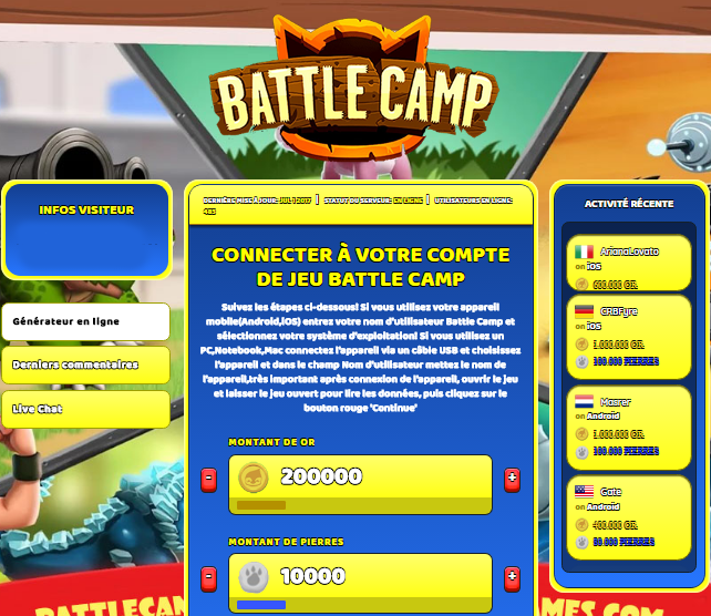Battle Camp triche, Battle Camp triche en ligne, Battle Camp triche android, Battle Camp triche Or et Pierres gratuit, Battle Camp triche illimite Or et Pierres, Battle Camp triche ios, Battle Camp triche ipad, Battle Camp triche iphone, Battle Camp gratuit Or et Pierres, Battle Camp triche samsung galaxy, Battle Camp triche telecharger, Battle Camp tricher, Battle Camp tricheu, Battle Camp tricheur, triche Battle Camp, code de triche Battle Camp, Battle Camp astuce, Battle Camp astuce en ligne, Battle Camp astuce android, Battle Camp astuce gratuit, Battle Camp astuce ios, Battle Camp astuce iphone, Battle Camp astuce telecharger, Battle Camp astuces, Battle Camp astuces gratuit, Battle Camp astuces android, Battle Camp astuces ios,, Battle Camp astuces telecharger, Battle Camp astuce Or et Pierres, Battle Camp cheat, Battle Camp cheats, Battle Camp cheat Or et Pierres, Battle Camp cheat gratuit, Battle Camp cheat iphone, Battle Camp cheat telecharger, Battle Camp hack online, Battle Camp hack generator, Battle Camp hack android, Battle Camp hack Or et Pierres, Battle Camp illimité Or et Pierres, Battle Camp mod apk, Battle Camp mod apk Or et Pierres, Battle Camp mod apk android, Battle Camp outil, Battle Camp outil de piratage, Battle Camp pirater, Battle Camp pirater en ligne, Battle Camp pirater android, Battle Camp pirater Or et Pierres, Battle Camp pirater gratuit, Battle Camp pirater ios, Battle Camp pirater iphone, Battle Camp pirater illimite Or et Pierres, Battle Camp triche jeu, Battle Camp astuce triche en ligne, comment tricheur sur Battle Camp, Or et Pierres gratuit dans Battle Camp, Battle Camp illimite Or et Pierres, Battle Camp hacken, Battle Camp beschummeln, Battle Camp betrügen, Battle Camp betrügen Or et Pierres, Battle Camp unbegrenzt Or et Pierres, Battle Camp Or et Pierres frei, Battle Camp hacken Or et Pierres, Battle Camp Or et Pierres gratuito, Battle Camp mod Or et Pierres, Battle Camp trucchi, Battle Camp engañar