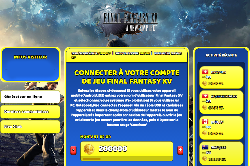 Final Fantasy XV triche, Final Fantasy XV triche en ligne, Final Fantasy XV triche android, Final Fantasy XV triche Or gratuit, Final Fantasy XV triche illimite Or, Final Fantasy XV triche ios, Final Fantasy XV triche ipad, Final Fantasy XV triche iphone, Final Fantasy XV gratuit Or, Final Fantasy XV triche samsung galaxy, Final Fantasy XV triche telecharger, Final Fantasy XV tricher, Final Fantasy XV tricheu, Final Fantasy XV tricheur, triche Final Fantasy XV, code de triche Final Fantasy XV, Final Fantasy XV astuce, Final Fantasy XV astuce en ligne, Final Fantasy XV astuce android, Final Fantasy XV astuce gratuit, Final Fantasy XV astuce ios, Final Fantasy XV astuce iphone, Final Fantasy XV astuce telecharger, Final Fantasy XV astuces, Final Fantasy XV astuces gratuit, Final Fantasy XV astuces android, Final Fantasy XV astuces ios,, Final Fantasy XV astuces telecharger, Final Fantasy XV astuce Or, Final Fantasy XV cheat, Final Fantasy XV cheats, Final Fantasy XV cheat Or, Final Fantasy XV cheat gratuit, Final Fantasy XV cheat iphone, Final Fantasy XV cheat telecharger, Final Fantasy XV hack online, Final Fantasy XV hack generator, Final Fantasy XV hack android, Final Fantasy XV hack Or, Final Fantasy XV illimité Or, Final Fantasy XV mod apk, Final Fantasy XV mod apk Or, Final Fantasy XV mod apk android, Final Fantasy XV outil, Final Fantasy XV outil de piratage, Final Fantasy XV pirater, Final Fantasy XV pirater en ligne, Final Fantasy XV pirater android, Final Fantasy XV pirater Or, Final Fantasy XV pirater gratuit, Final Fantasy XV pirater ios, Final Fantasy XV pirater iphone, Final Fantasy XV pirater illimite Or, Final Fantasy XV triche jeu, Final Fantasy XV astuce triche en ligne, comment tricheur sur Final Fantasy XV, Or gratuit dans Final Fantasy XV, Final Fantasy XV illimite Or, Final Fantasy XV hacken, Final Fantasy XV beschummeln, Final Fantasy XV betrügen, Final Fantasy XV betrügen Or, Final Fantasy XV unbegrenzt Or, Final Fantasy XV Or frei, Final Fantasy XV hacken Or, Final Fantasy XV Or gratuito, Final Fantasy XV mod Or, Final Fantasy XV trucchi, Final Fantasy XV engañar