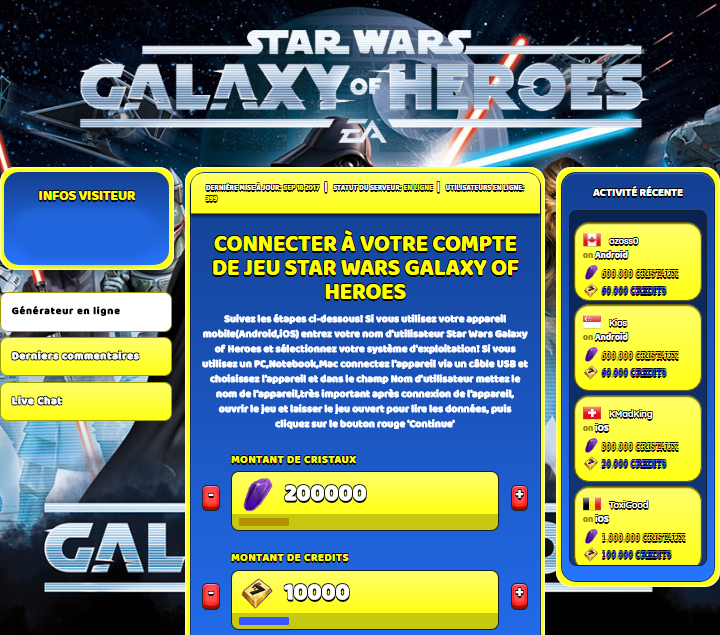 Star Wars Galaxy of Heroes triche, Star Wars Galaxy of Heroes triche en ligne, Star Wars Galaxy of Heroes triche android, Star Wars Galaxy of Heroes triche Cristaux et Credits gratuit, Star Wars Galaxy of Heroes triche illimite Cristaux et Credits, Star Wars Galaxy of Heroes triche ios, Star Wars Galaxy of Heroes triche ipad, Star Wars Galaxy of Heroes triche iphone, Star Wars Galaxy of Heroes gratuit Cristaux et Credits, Star Wars Galaxy of Heroes triche samsung galaxy, Star Wars Galaxy of Heroes triche telecharger, Star Wars Galaxy of Heroes tricher, Star Wars Galaxy of Heroes tricheu, Star Wars Galaxy of Heroes tricheur, triche Star Wars Galaxy of Heroes, code de triche Star Wars Galaxy of Heroes, Star Wars Galaxy of Heroes astuce, Star Wars Galaxy of Heroes astuce en ligne, Star Wars Galaxy of Heroes astuce android, Star Wars Galaxy of Heroes astuce gratuit, Star Wars Galaxy of Heroes astuce ios, Star Wars Galaxy of Heroes astuce iphone, Star Wars Galaxy of Heroes astuce telecharger, Star Wars Galaxy of Heroes astuces, Star Wars Galaxy of Heroes astuces gratuit, Star Wars Galaxy of Heroes astuces android, Star Wars Galaxy of Heroes astuces ios,, Star Wars Galaxy of Heroes astuces telecharger, Star Wars Galaxy of Heroes astuce Cristaux et Credits, Star Wars Galaxy of Heroes cheat, Star Wars Galaxy of Heroes cheats, Star Wars Galaxy of Heroes cheat Cristaux et Credits, Star Wars Galaxy of Heroes cheat gratuit, Star Wars Galaxy of Heroes cheat iphone, Star Wars Galaxy of Heroes cheat telecharger, Star Wars Galaxy of Heroes hack online, Star Wars Galaxy of Heroes hack generator, Star Wars Galaxy of Heroes hack android, Star Wars Galaxy of Heroes hack Cristaux et Credits, Star Wars Galaxy of Heroes illimité Cristaux et Credits, Star Wars Galaxy of Heroes mod apk, Star Wars Galaxy of Heroes mod apk Cristaux et Credits, Star Wars Galaxy of Heroes mod apk android, Star Wars Galaxy of Heroes outil, Star Wars Galaxy of Heroes outil de piratage, Star Wars Galaxy of Heroes pirater, Star Wars Galaxy of Heroes pirater en ligne, Star Wars Galaxy of Heroes pirater android, Star Wars Galaxy of Heroes pirater Cristaux et Credits, Star Wars Galaxy of Heroes pirater gratuit, Star Wars Galaxy of Heroes pirater ios, Star Wars Galaxy of Heroes pirater iphone, Star Wars Galaxy of Heroes pirater illimite Cristaux et Credits, Star Wars Galaxy of Heroes triche jeu, Star Wars Galaxy of Heroes astuce triche en ligne, comment tricheur sur Star Wars Galaxy of Heroes, Cristaux et Credits gratuit dans Star Wars Galaxy of Heroes, Star Wars Galaxy of Heroes illimite Cristaux et Credits, Star Wars Galaxy of Heroes hacken, Star Wars Galaxy of Heroes beschummeln, Star Wars Galaxy of Heroes betrügen, Star Wars Galaxy of Heroes betrügen Cristaux et Credits, Star Wars Galaxy of Heroes unbegrenzt Cristaux et Credits, Star Wars Galaxy of Heroes Cristaux et Credits frei, Star Wars Galaxy of Heroes hacken Cristaux et Credits, Star Wars Galaxy of Heroes Cristaux et Credits gratuito, Star Wars Galaxy of Heroes mod Cristaux et Credits, Star Wars Galaxy of Heroes trucchi, Star Wars Galaxy of Heroes engañar