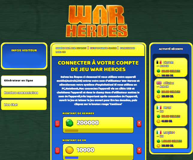 War Heroes triche, War Heroes triche en ligne, War Heroes triche android, War Heroes triche Gemmes et Or gratuit, War Heroes triche illimite Gemmes et Or, War Heroes triche ios, War Heroes triche ipad, War Heroes triche iphone, War Heroes gratuit Gemmes et Or, War Heroes triche samsung galaxy, War Heroes triche telecharger, War Heroes tricher, War Heroes tricheu, War Heroes tricheur, triche War Heroes, code de triche War Heroes, War Heroes astuce, War Heroes astuce en ligne, War Heroes astuce android, War Heroes astuce gratuit, War Heroes astuce ios, War Heroes astuce iphone, War Heroes astuce telecharger, War Heroes astuces, War Heroes astuces gratuit, War Heroes astuces android, War Heroes astuces ios,, War Heroes astuces telecharger, War Heroes astuce Gemmes et Or, War Heroes cheat, War Heroes cheats, War Heroes cheat Gemmes et Or, War Heroes cheat gratuit, War Heroes cheat iphone, War Heroes cheat telecharger, War Heroes hack online, War Heroes hack generator, War Heroes hack android, War Heroes hack Gemmes et Or, War Heroes illimité Gemmes et Or, War Heroes mod apk, War Heroes mod apk Gemmes et Or, War Heroes mod apk android, War Heroes outil, War Heroes outil de piratage, War Heroes pirater, War Heroes pirater en ligne, War Heroes pirater android, War Heroes pirater Gemmes et Or, War Heroes pirater gratuit, War Heroes pirater ios, War Heroes pirater iphone, War Heroes pirater illimite Gemmes et Or, War Heroes triche jeu, War Heroes astuce triche en ligne, comment tricheur sur War Heroes, Gemmes et Or gratuit dans War Heroes, War Heroes illimite Gemmes et Or, War Heroes hacken, War Heroes beschummeln, War Heroes betrügen, War Heroes betrügen Gemmes et Or, War Heroes unbegrenzt Gemmes et Or, War Heroes Gemmes et Or frei, War Heroes hacken Gemmes et Or, War Heroes Gemmes et Or gratuito, War Heroes mod Gemmes et Or, War Heroes trucchi, War Heroes engañar