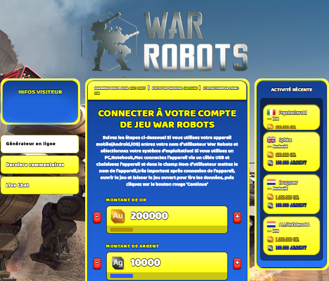 War Robots triche, War Robots triche en ligne, War Robots triche android, War Robots triche Or et Argent gratuit, War Robots triche illimite Or et Argent, War Robots triche ios, War Robots triche ipad, War Robots triche iphone, War Robots gratuit Or et Argent, War Robots triche samsung galaxy, War Robots triche telecharger, War Robots tricher, War Robots tricheu, War Robots tricheur, triche War Robots, code de triche War Robots, War Robots astuce, War Robots astuce en ligne, War Robots astuce android, War Robots astuce gratuit, War Robots astuce ios, War Robots astuce iphone, War Robots astuce telecharger, War Robots astuces, War Robots astuces gratuit, War Robots astuces android, War Robots astuces ios,, War Robots astuces telecharger, War Robots astuce Or et Argent, War Robots cheat, War Robots cheats, War Robots cheat Or et Argent, War Robots cheat gratuit, War Robots cheat iphone, War Robots cheat telecharger, War Robots hack online, War Robots hack generator, War Robots hack android, War Robots hack Or et Argent, War Robots illimité Or et Argent, War Robots mod apk, War Robots mod apk Or et Argent, War Robots mod apk android, War Robots outil, War Robots outil de piratage, War Robots pirater, War Robots pirater en ligne, War Robots pirater android, War Robots pirater Or et Argent, War Robots pirater gratuit, War Robots pirater ios, War Robots pirater iphone, War Robots pirater illimite Or et Argent, War Robots triche jeu, War Robots astuce triche en ligne, comment tricheur sur War Robots, Or et Argent gratuit dans War Robots, War Robots illimite Or et Argent, War Robots hacken, War Robots beschummeln, War Robots betrügen, War Robots betrügen Or et Argent, War Robots unbegrenzt Or et Argent, War Robots Or et Argent frei, War Robots hacken Or et Argent, War Robots Or et Argent gratuito, War Robots mod Or et Argent, War Robots trucchi, War Robots engañar