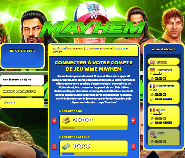 WWE Mayhem triche, WWE Mayhem triche en ligne, WWE Mayhem triche android, WWE Mayhem triche Or et Argent gratuit, WWE Mayhem triche illimite Or et Argent, WWE Mayhem triche ios, WWE Mayhem triche ipad, WWE Mayhem triche iphone, WWE Mayhem gratuit Or et Argent, WWE Mayhem triche samsung galaxy, WWE Mayhem triche telecharger, WWE Mayhem tricher, WWE Mayhem tricheu, WWE Mayhem tricheur, triche WWE Mayhem, code de triche WWE Mayhem, WWE Mayhem astuce, WWE Mayhem astuce en ligne, WWE Mayhem astuce android, WWE Mayhem astuce gratuit, WWE Mayhem astuce ios, WWE Mayhem astuce iphone, WWE Mayhem astuce telecharger, WWE Mayhem astuces, WWE Mayhem astuces gratuit, WWE Mayhem astuces android, WWE Mayhem astuces ios,, WWE Mayhem astuces telecharger, WWE Mayhem astuce Or et Argent, WWE Mayhem cheat, WWE Mayhem cheats, WWE Mayhem cheat Or et Argent, WWE Mayhem cheat gratuit, WWE Mayhem cheat iphone, WWE Mayhem cheat telecharger, WWE Mayhem hack online, WWE Mayhem hack generator, WWE Mayhem hack android, WWE Mayhem hack Or et Argent, WWE Mayhem illimité Or et Argent, WWE Mayhem mod apk, WWE Mayhem mod apk Or et Argent, WWE Mayhem mod apk android, WWE Mayhem outil, WWE Mayhem outil de piratage, WWE Mayhem pirater, WWE Mayhem pirater en ligne, WWE Mayhem pirater android, WWE Mayhem pirater Or et Argent, WWE Mayhem pirater gratuit, WWE Mayhem pirater ios, WWE Mayhem pirater iphone, WWE Mayhem pirater illimite Or et Argent, WWE Mayhem triche jeu, WWE Mayhem astuce triche en ligne, comment tricheur sur WWE Mayhem, Or et Argent gratuit dans WWE Mayhem, WWE Mayhem illimite Or et Argent, WWE Mayhem hacken, WWE Mayhem beschummeln, WWE Mayhem betrügen, WWE Mayhem betrügen Or et Argent, WWE Mayhem unbegrenzt Or et Argent, WWE Mayhem Or et Argent frei, WWE Mayhem hacken Or et Argent, WWE Mayhem Or et Argent gratuito, WWE Mayhem mod Or et Argent, WWE Mayhem trucchi, WWE Mayhem engañar
