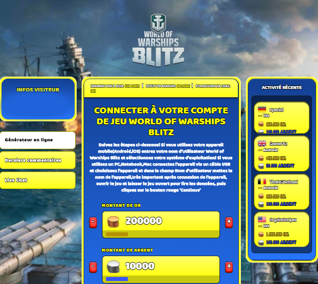 World of Warships Blitz triche, World of Warships Blitz triche en ligne, World of Warships Blitz triche android, World of Warships Blitz triche Or et Argent gratuit, World of Warships Blitz triche illimite Or et Argent, World of Warships Blitz triche ios, World of Warships Blitz triche ipad, World of Warships Blitz triche iphone, World of Warships Blitz gratuit Or et Argent, World of Warships Blitz triche samsung galaxy, World of Warships Blitz triche telecharger, World of Warships Blitz tricher, World of Warships Blitz tricheu, World of Warships Blitz tricheur, triche World of Warships Blitz, code de triche World of Warships Blitz, World of Warships Blitz astuce, World of Warships Blitz astuce en ligne, World of Warships Blitz astuce android, World of Warships Blitz astuce gratuit, World of Warships Blitz astuce ios, World of Warships Blitz astuce iphone, World of Warships Blitz astuce telecharger, World of Warships Blitz astuces, World of Warships Blitz astuces gratuit, World of Warships Blitz astuces android, World of Warships Blitz astuces ios,, World of Warships Blitz astuces telecharger, World of Warships Blitz astuce Or et Argent, World of Warships Blitz cheat, World of Warships Blitz cheats, World of Warships Blitz cheat Or et Argent, World of Warships Blitz cheat gratuit, World of Warships Blitz cheat iphone, World of Warships Blitz cheat telecharger, World of Warships Blitz hack online, World of Warships Blitz hack generator, World of Warships Blitz hack android, World of Warships Blitz hack Or et Argent, World of Warships Blitz illimité Or et Argent, World of Warships Blitz mod apk, World of Warships Blitz mod apk Or et Argent, World of Warships Blitz mod apk android, World of Warships Blitz outil, World of Warships Blitz outil de piratage, World of Warships Blitz pirater, World of Warships Blitz pirater en ligne, World of Warships Blitz pirater android, World of Warships Blitz pirater Or et Argent, World of Warships Blitz pirater gratuit, World of Warships Blitz pirater ios, World of Warships Blitz pirater iphone, World of Warships Blitz pirater illimite Or et Argent, World of Warships Blitz triche jeu, World of Warships Blitz astuce triche en ligne, comment tricheur sur World of Warships Blitz, Or et Argent gratuit dans World of Warships Blitz, World of Warships Blitz illimite Or et Argent, World of Warships Blitz hacken, World of Warships Blitz beschummeln, World of Warships Blitz betrügen, World of Warships Blitz betrügen Or et Argent, World of Warships Blitz unbegrenzt Or et Argent, World of Warships Blitz Or et Argent frei, World of Warships Blitz hacken Or et Argent, World of Warships Blitz Or et Argent gratuito, World of Warships Blitz mod Or et Argent, World of Warships Blitz trucchi, World of Warships Blitz engañar