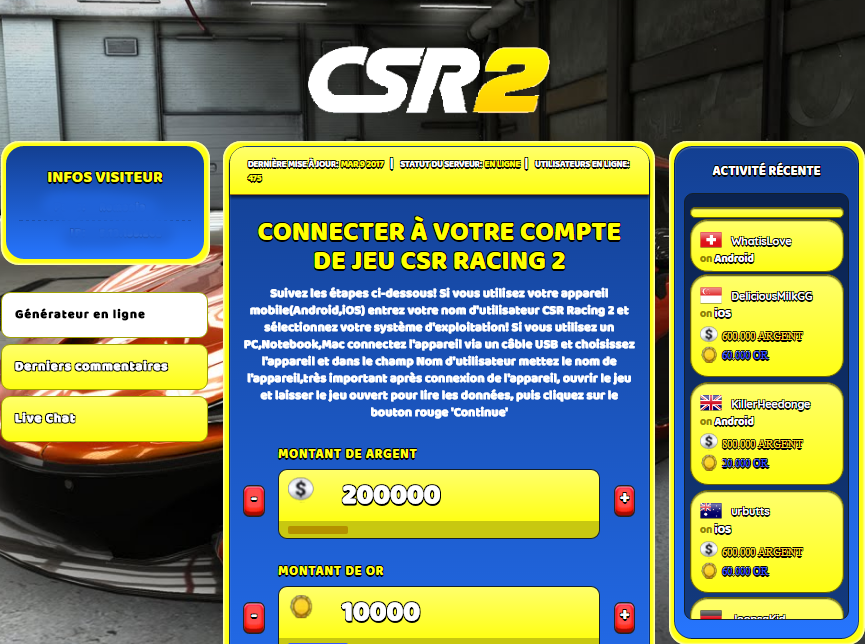 CSR Racing 2 triche, CSR Racing 2 triche en ligne, CSR Racing 2 triche android, CSR Racing 2 triche Argent et Or gratuit, CSR Racing 2 triche illimite Argent et Or, CSR Racing 2 triche ios, CSR Racing 2 triche ipad, CSR Racing 2 triche iphone, CSR Racing 2 gratuit Argent et Or, CSR Racing 2 triche samsung galaxy, CSR Racing 2 triche telecharger, CSR Racing 2 tricher, CSR Racing 2 tricheu, CSR Racing 2 tricheur, triche CSR Racing 2, code de triche CSR Racing 2, CSR Racing 2 astuce, CSR Racing 2 astuce en ligne, CSR Racing 2 astuce android, CSR Racing 2 astuce gratuit, CSR Racing 2 astuce ios, CSR Racing 2 astuce iphone, CSR Racing 2 astuce telecharger, CSR Racing 2 astuces, CSR Racing 2 astuces gratuit, CSR Racing 2 astuces android, CSR Racing 2 astuces ios,, CSR Racing 2 astuces telecharger, CSR Racing 2 astuce Argent et Or, CSR Racing 2 cheat, CSR Racing 2 cheats, CSR Racing 2 cheat Argent et Or, CSR Racing 2 cheat gratuit, CSR Racing 2 cheat iphone, CSR Racing 2 cheat telecharger, CSR Racing 2 hack online, CSR Racing 2 hack generator, CSR Racing 2 hack android, CSR Racing 2 hack Argent et Or, CSR Racing 2 illimité Argent et Or, CSR Racing 2 mod apk, CSR Racing 2 mod apk Argent et Or, CSR Racing 2 mod apk android, CSR Racing 2 outil, CSR Racing 2 outil de piratage, CSR Racing 2 pirater, CSR Racing 2 pirater en ligne, CSR Racing 2 pirater android, CSR Racing 2 pirater Argent et Or, CSR Racing 2 pirater gratuit, CSR Racing 2 pirater ios, CSR Racing 2 pirater iphone, CSR Racing 2 pirater illimite Argent et Or, CSR Racing 2 triche jeu, CSR Racing 2 astuce triche en ligne, comment tricheur sur CSR Racing 2, Argent et Or gratuit dans CSR Racing 2, CSR Racing 2 illimite Argent et Or, CSR Racing 2 hacken, CSR Racing 2 beschummeln, CSR Racing 2 betrügen, CSR Racing 2 betrügen Argent et Or, CSR Racing 2 unbegrenzt Argent et Or, CSR Racing 2 Argent et Or frei, CSR Racing 2 hacken Argent et Or, CSR Racing 2 Argent et Or gratuito, CSR Racing 2 mod Argent et Or, CSR Racing 2 trucchi, CSR Racing 2 engañar
