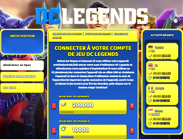 DC Legends triche, DC Legends triche en ligne, DC Legends triche android, DC Legends triche Gemmes et Essence gratuit, DC Legends triche illimite Gemmes et Essence, DC Legends triche ios, DC Legends triche ipad, DC Legends triche iphone, DC Legends gratuit Gemmes et Essence, DC Legends triche samsung galaxy, DC Legends triche telecharger, DC Legends tricher, DC Legends tricheu, DC Legends tricheur, triche DC Legends, code de triche DC Legends, DC Legends astuce, DC Legends astuce en ligne, DC Legends astuce android, DC Legends astuce gratuit, DC Legends astuce ios, DC Legends astuce iphone, DC Legends astuce telecharger, DC Legends astuces, DC Legends astuces gratuit, DC Legends astuces android, DC Legends astuces ios,, DC Legends astuces telecharger, DC Legends astuce Gemmes et Essence, DC Legends cheat, DC Legends cheats, DC Legends cheat Gemmes et Essence, DC Legends cheat gratuit, DC Legends cheat iphone, DC Legends cheat telecharger, DC Legends hack online, DC Legends hack generator, DC Legends hack android, DC Legends hack Gemmes et Essence, DC Legends illimité Gemmes et Essence, DC Legends mod apk, DC Legends mod apk Gemmes et Essence, DC Legends mod apk android, DC Legends outil, DC Legends outil de piratage, DC Legends pirater, DC Legends pirater en ligne, DC Legends pirater android, DC Legends pirater Gemmes et Essence, DC Legends pirater gratuit, DC Legends pirater ios, DC Legends pirater iphone, DC Legends pirater illimite Gemmes et Essence, DC Legends triche jeu, DC Legends astuce triche en ligne, comment tricheur sur DC Legends, Gemmes et Essence gratuit dans DC Legends, DC Legends illimite Gemmes et Essence, DC Legends hacken, DC Legends beschummeln, DC Legends betrügen, DC Legends betrügen Gemmes et Essence, DC Legends unbegrenzt Gemmes et Essence, DC Legends Gemmes et Essence frei, DC Legends hacken Gemmes et Essence, DC Legends Gemmes et Essence gratuito, DC Legends mod Gemmes et Essence, DC Legends trucchi, DC Legends engañar