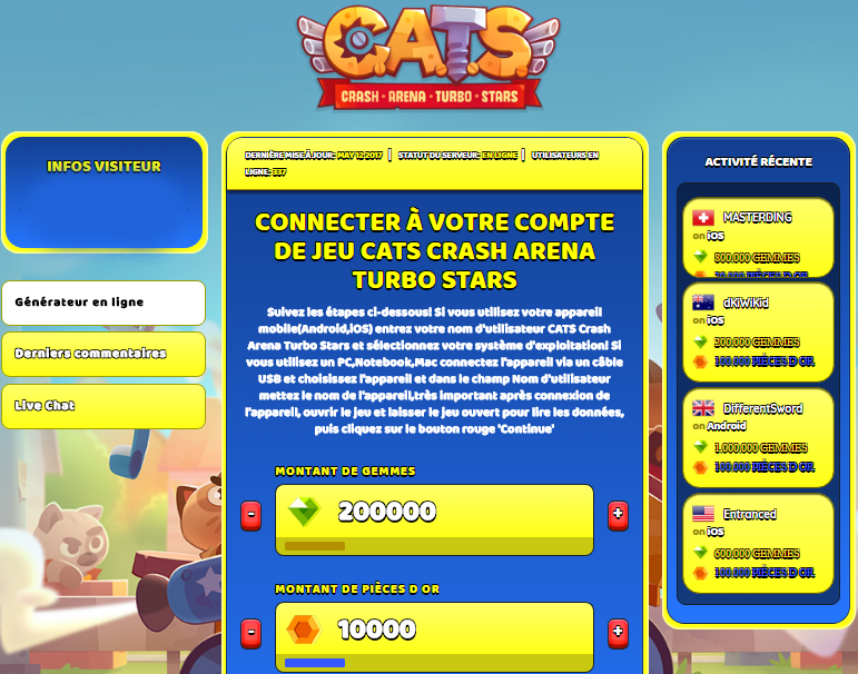 CATS Crash Arena Turbo Stars triche, CATS Crash Arena Turbo Stars triche en ligne, CATS Crash Arena Turbo Stars triche android, CATS Crash Arena Turbo Stars triche Gemmes et Pièces d Or gratuit, CATS Crash Arena Turbo Stars triche illimite Gemmes et Pièces d Or, CATS Crash Arena Turbo Stars triche ios, CATS Crash Arena Turbo Stars triche ipad, CATS Crash Arena Turbo Stars triche iphone, CATS Crash Arena Turbo Stars gratuit Gemmes et Pièces d Or, CATS Crash Arena Turbo Stars triche samsung galaxy, CATS Crash Arena Turbo Stars triche telecharger, CATS Crash Arena Turbo Stars tricher, CATS Crash Arena Turbo Stars tricheu, CATS Crash Arena Turbo Stars tricheur, triche CATS Crash Arena Turbo Stars, code de triche CATS Crash Arena Turbo Stars, CATS Crash Arena Turbo Stars astuce, CATS Crash Arena Turbo Stars astuce en ligne, CATS Crash Arena Turbo Stars astuce android, CATS Crash Arena Turbo Stars astuce gratuit, CATS Crash Arena Turbo Stars astuce ios, CATS Crash Arena Turbo Stars astuce iphone, CATS Crash Arena Turbo Stars astuce telecharger, CATS Crash Arena Turbo Stars astuces, CATS Crash Arena Turbo Stars astuces gratuit, CATS Crash Arena Turbo Stars astuces android, CATS Crash Arena Turbo Stars astuces ios,, CATS Crash Arena Turbo Stars astuces telecharger, CATS Crash Arena Turbo Stars astuce Gemmes et Pièces d Or, CATS Crash Arena Turbo Stars cheat, CATS Crash Arena Turbo Stars cheats, CATS Crash Arena Turbo Stars cheat Gemmes et Pièces d Or, CATS Crash Arena Turbo Stars cheat gratuit, CATS Crash Arena Turbo Stars cheat iphone, CATS Crash Arena Turbo Stars cheat telecharger, CATS Crash Arena Turbo Stars hack online, CATS Crash Arena Turbo Stars hack generator, CATS Crash Arena Turbo Stars hack android, CATS Crash Arena Turbo Stars hack Gemmes et Pièces d Or, CATS Crash Arena Turbo Stars illimité Gemmes et Pièces d Or, CATS Crash Arena Turbo Stars mod apk, CATS Crash Arena Turbo Stars mod apk Gemmes et Pièces d Or, CATS Crash Arena Turbo Stars mod apk android, CATS Crash Arena Turbo Stars outil, CATS Crash Arena Turbo Stars outil de piratage, CATS Crash Arena Turbo Stars pirater, CATS Crash Arena Turbo Stars pirater en ligne, CATS Crash Arena Turbo Stars pirater android, CATS Crash Arena Turbo Stars pirater Gemmes et Pièces d Or, CATS Crash Arena Turbo Stars pirater gratuit, CATS Crash Arena Turbo Stars pirater ios, CATS Crash Arena Turbo Stars pirater iphone, CATS Crash Arena Turbo Stars pirater illimite Gemmes et Pièces d Or, CATS Crash Arena Turbo Stars triche jeu, CATS Crash Arena Turbo Stars astuce triche en ligne, comment tricheur sur CATS Crash Arena Turbo Stars, Gemmes et Pièces d Or gratuit dans CATS Crash Arena Turbo Stars, CATS Crash Arena Turbo Stars illimite Gemmes et Pièces d Or, CATS Crash Arena Turbo Stars hacken, CATS Crash Arena Turbo Stars beschummeln, CATS Crash Arena Turbo Stars betrügen, CATS Crash Arena Turbo Stars betrügen Gemmes et Pièces d Or, CATS Crash Arena Turbo Stars unbegrenzt Gemmes et Pièces d Or, CATS Crash Arena Turbo Stars Gemmes et Pièces d Or frei, CATS Crash Arena Turbo Stars hacken Gemmes et Pièces d Or, CATS Crash Arena Turbo Stars Gemmes et Pièces d Or gratuito, CATS Crash Arena Turbo Stars mod Gemmes et Pièces d Or, CATS Crash Arena Turbo Stars trucchi, CATS Crash Arena Turbo Stars engañar