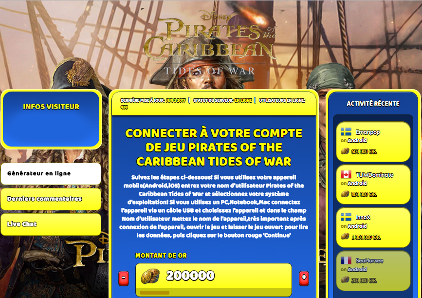 Pirates of the Caribbean Tides of War triche, Pirates of the Caribbean Tides of War triche en ligne, Pirates of the Caribbean Tides of War triche android, Pirates of the Caribbean Tides of War triche Or gratuit, Pirates of the Caribbean Tides of War triche illimite Or, Pirates of the Caribbean Tides of War triche ios, Pirates of the Caribbean Tides of War triche ipad, Pirates of the Caribbean Tides of War triche iphone, Pirates of the Caribbean Tides of War gratuit Or, Pirates of the Caribbean Tides of War triche samsung galaxy, Pirates of the Caribbean Tides of War triche telecharger, Pirates of the Caribbean Tides of War tricher, Pirates of the Caribbean Tides of War tricheu, Pirates of the Caribbean Tides of War tricheur, triche Pirates of the Caribbean Tides of War, code de triche Pirates of the Caribbean Tides of War, Pirates of the Caribbean Tides of War astuce, Pirates of the Caribbean Tides of War astuce en ligne, Pirates of the Caribbean Tides of War astuce android, Pirates of the Caribbean Tides of War astuce gratuit, Pirates of the Caribbean Tides of War astuce ios, Pirates of the Caribbean Tides of War astuce iphone, Pirates of the Caribbean Tides of War astuce telecharger, Pirates of the Caribbean Tides of War astuces, Pirates of the Caribbean Tides of War astuces gratuit, Pirates of the Caribbean Tides of War astuces android, Pirates of the Caribbean Tides of War astuces ios,, Pirates of the Caribbean Tides of War astuces telecharger, Pirates of the Caribbean Tides of War astuce Or, Pirates of the Caribbean Tides of War cheat, Pirates of the Caribbean Tides of War cheats, Pirates of the Caribbean Tides of War cheat Or, Pirates of the Caribbean Tides of War cheat gratuit, Pirates of the Caribbean Tides of War cheat iphone, Pirates of the Caribbean Tides of War cheat telecharger, Pirates of the Caribbean Tides of War hack online, Pirates of the Caribbean Tides of War hack generator, Pirates of the Caribbean Tides of War hack android, Pirates of the Caribbean Tides of War hack Or, Pirates of the Caribbean Tides of War illimité Or, Pirates of the Caribbean Tides of War mod apk, Pirates of the Caribbean Tides of War mod apk Or, Pirates of the Caribbean Tides of War mod apk android, Pirates of the Caribbean Tides of War outil, Pirates of the Caribbean Tides of War outil de piratage, Pirates of the Caribbean Tides of War pirater, Pirates of the Caribbean Tides of War pirater en ligne, Pirates of the Caribbean Tides of War pirater android, Pirates of the Caribbean Tides of War pirater Or, Pirates of the Caribbean Tides of War pirater gratuit, Pirates of the Caribbean Tides of War pirater ios, Pirates of the Caribbean Tides of War pirater iphone, Pirates of the Caribbean Tides of War pirater illimite Or, Pirates of the Caribbean Tides of War triche jeu, Pirates of the Caribbean Tides of War astuce triche en ligne, comment tricheur sur Pirates of the Caribbean Tides of War, Or gratuit dans Pirates of the Caribbean Tides of War, Pirates of the Caribbean Tides of War illimite Or, Pirates of the Caribbean Tides of War hacken, Pirates of the Caribbean Tides of War beschummeln, Pirates of the Caribbean Tides of War betrügen, Pirates of the Caribbean Tides of War betrügen Or, Pirates of the Caribbean Tides of War unbegrenzt Or, Pirates of the Caribbean Tides of War Or frei, Pirates of the Caribbean Tides of War hacken Or, Pirates of the Caribbean Tides of War Or gratuito, Pirates of the Caribbean Tides of War mod Or, Pirates of the Caribbean Tides of War trucchi, Pirates of the Caribbean Tides of War engañar