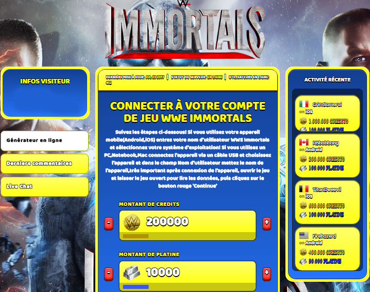 WWE Immortals triche, WWE Immortals triche en ligne, WWE Immortals triche android, WWE Immortals triche Credits et Platine gratuit, WWE Immortals triche illimite Credits et Platine, WWE Immortals triche ios, WWE Immortals triche ipad, WWE Immortals triche iphone, WWE Immortals gratuit Credits et Platine, WWE Immortals triche samsung galaxy, WWE Immortals triche telecharger, WWE Immortals tricher, WWE Immortals tricheu, WWE Immortals tricheur, triche WWE Immortals, code de triche WWE Immortals, WWE Immortals astuce, WWE Immortals astuce en ligne, WWE Immortals astuce android, WWE Immortals astuce gratuit, WWE Immortals astuce ios, WWE Immortals astuce iphone, WWE Immortals astuce telecharger, WWE Immortals astuces, WWE Immortals astuces gratuit, WWE Immortals astuces android, WWE Immortals astuces ios,, WWE Immortals astuces telecharger, WWE Immortals astuce Credits et Platine, WWE Immortals cheat, WWE Immortals cheats, WWE Immortals cheat Credits et Platine, WWE Immortals cheat gratuit, WWE Immortals cheat iphone, WWE Immortals cheat telecharger, WWE Immortals hack online, WWE Immortals hack generator, WWE Immortals hack android, WWE Immortals hack Credits et Platine, WWE Immortals illimité Credits et Platine, WWE Immortals mod apk, WWE Immortals mod apk Credits et Platine, WWE Immortals mod apk android, WWE Immortals outil, WWE Immortals outil de piratage, WWE Immortals pirater, WWE Immortals pirater en ligne, WWE Immortals pirater android, WWE Immortals pirater Credits et Platine, WWE Immortals pirater gratuit, WWE Immortals pirater ios, WWE Immortals pirater iphone, WWE Immortals pirater illimite Credits et Platine, WWE Immortals triche jeu, WWE Immortals astuce triche en ligne, comment tricheur sur WWE Immortals, Credits et Platine gratuit dans WWE Immortals, WWE Immortals illimite Credits et Platine, WWE Immortals hacken, WWE Immortals beschummeln, WWE Immortals betrügen, WWE Immortals betrügen Credits et Platine, WWE Immortals unbegrenzt Credits et Platine, WWE Immortals Credits et Platine frei, WWE Immortals hacken Credits et Platine, WWE Immortals Credits et Platine gratuito, WWE Immortals mod Credits et Platine, WWE Immortals trucchi, WWE Immortals engañar