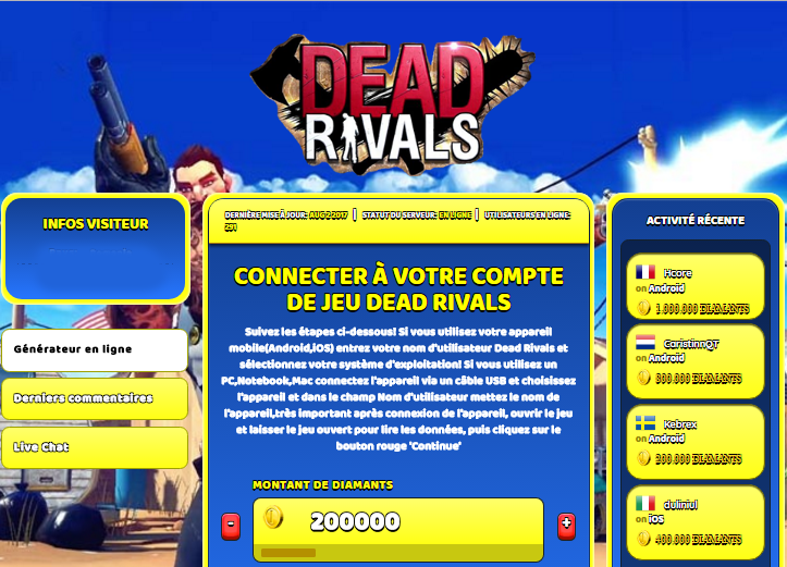 Dead Rivals triche, Dead Rivals triche en ligne, Dead Rivals triche android, Dead Rivals triche Diamants gratuit, Dead Rivals triche illimite Diamants, Dead Rivals triche ios, Dead Rivals triche ipad, Dead Rivals triche iphone, Dead Rivals gratuit Diamants, Dead Rivals triche samsung galaxy, Dead Rivals triche telecharger, Dead Rivals tricher, Dead Rivals tricheu, Dead Rivals tricheur, triche Dead Rivals, code de triche Dead Rivals, Dead Rivals astuce, Dead Rivals astuce en ligne, Dead Rivals astuce android, Dead Rivals astuce gratuit, Dead Rivals astuce ios, Dead Rivals astuce iphone, Dead Rivals astuce telecharger, Dead Rivals astuces, Dead Rivals astuces gratuit, Dead Rivals astuces android, Dead Rivals astuces ios,, Dead Rivals astuces telecharger, Dead Rivals astuce Diamants, Dead Rivals cheat, Dead Rivals cheats, Dead Rivals cheat Diamants, Dead Rivals cheat gratuit, Dead Rivals cheat iphone, Dead Rivals cheat telecharger, Dead Rivals hack online, Dead Rivals hack generator, Dead Rivals hack android, Dead Rivals hack Diamants, Dead Rivals illimité Diamants, Dead Rivals mod apk, Dead Rivals mod apk Diamants, Dead Rivals mod apk android, Dead Rivals outil, Dead Rivals outil de piratage, Dead Rivals pirater, Dead Rivals pirater en ligne, Dead Rivals pirater android, Dead Rivals pirater Diamants, Dead Rivals pirater gratuit, Dead Rivals pirater ios, Dead Rivals pirater iphone, Dead Rivals pirater illimite Diamants, Dead Rivals triche jeu, Dead Rivals astuce triche en ligne, comment tricheur sur Dead Rivals, Diamants gratuit dans Dead Rivals, Dead Rivals illimite Diamants, Dead Rivals hacken, Dead Rivals beschummeln, Dead Rivals betrügen, Dead Rivals betrügen Diamants, Dead Rivals unbegrenzt Diamants, Dead Rivals Diamants frei, Dead Rivals hacken Diamants, Dead Rivals Diamants gratuito, Dead Rivals mod Diamants, Dead Rivals trucchi, Dead Rivals engañar