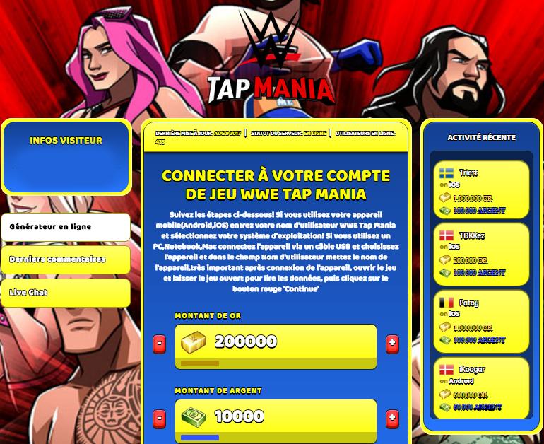 WWE Tap Mania triche, WWE Tap Mania triche en ligne, WWE Tap Mania triche android, WWE Tap Mania triche Or et Argent gratuit, WWE Tap Mania triche illimite Or et Argent, WWE Tap Mania triche ios, WWE Tap Mania triche ipad, WWE Tap Mania triche iphone, WWE Tap Mania gratuit Or et Argent, WWE Tap Mania triche samsung galaxy, WWE Tap Mania triche telecharger, WWE Tap Mania tricher, WWE Tap Mania tricheu, WWE Tap Mania tricheur, triche WWE Tap Mania, code de triche WWE Tap Mania, WWE Tap Mania astuce, WWE Tap Mania astuce en ligne, WWE Tap Mania astuce android, WWE Tap Mania astuce gratuit, WWE Tap Mania astuce ios, WWE Tap Mania astuce iphone, WWE Tap Mania astuce telecharger, WWE Tap Mania astuces, WWE Tap Mania astuces gratuit, WWE Tap Mania astuces android, WWE Tap Mania astuces ios,, WWE Tap Mania astuces telecharger, WWE Tap Mania astuce Or et Argent, WWE Tap Mania cheat, WWE Tap Mania cheats, WWE Tap Mania cheat Or et Argent, WWE Tap Mania cheat gratuit, WWE Tap Mania cheat iphone, WWE Tap Mania cheat telecharger, WWE Tap Mania hack online, WWE Tap Mania hack generator, WWE Tap Mania hack android, WWE Tap Mania hack Or et Argent, WWE Tap Mania illimité Or et Argent, WWE Tap Mania mod apk, WWE Tap Mania mod apk Or et Argent, WWE Tap Mania mod apk android, WWE Tap Mania outil, WWE Tap Mania outil de piratage, WWE Tap Mania pirater, WWE Tap Mania pirater en ligne, WWE Tap Mania pirater android, WWE Tap Mania pirater Or et Argent, WWE Tap Mania pirater gratuit, WWE Tap Mania pirater ios, WWE Tap Mania pirater iphone, WWE Tap Mania pirater illimite Or et Argent, WWE Tap Mania triche jeu, WWE Tap Mania astuce triche en ligne, comment tricheur sur WWE Tap Mania, Or et Argent gratuit dans WWE Tap Mania, WWE Tap Mania illimite Or et Argent, WWE Tap Mania hacken, WWE Tap Mania beschummeln, WWE Tap Mania betrügen, WWE Tap Mania betrügen Or et Argent, WWE Tap Mania unbegrenzt Or et Argent, WWE Tap Mania Or et Argent frei, WWE Tap Mania hacken Or et Argent, WWE Tap Mania Or e