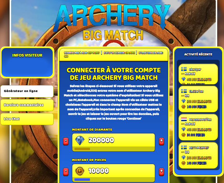 Archery Big Match triche, Archery Big Match triche en ligne, Archery Big Match triche android, Archery Big Match triche Diamants et Pieces gratuit, Archery Big Match triche illimite Diamants et Pieces, Archery Big Match triche ios, Archery Big Match triche ipad, Archery Big Match triche iphone, Archery Big Match gratuit Diamants et Pieces, Archery Big Match triche samsung galaxy, Archery Big Match triche telecharger, Archery Big Match tricher, Archery Big Match tricheu, Archery Big Match tricheur, triche Archery Big Match, code de triche Archery Big Match, Archery Big Match astuce, Archery Big Match astuce en ligne, Archery Big Match astuce android, Archery Big Match astuce gratuit, Archery Big Match astuce ios, Archery Big Match astuce iphone, Archery Big Match astuce telecharger, Archery Big Match astuces, Archery Big Match astuces gratuit, Archery Big Match astuces android, Archery Big Match astuces ios,, Archery Big Match astuces telecharger, Archery Big Match astuce Diamants et Pieces, Archery Big Match cheat, Archery Big Match cheats, Archery Big Match cheat Diamants et Pieces, Archery Big Match cheat gratuit, Archery Big Match cheat iphone, Archery Big Match cheat telecharger, Archery Big Match hack online, Archery Big Match hack generator, Archery Big Match hack android, Archery Big Match hack Diamants et Pieces, Archery Big Match illimité Diamants et Pieces, Archery Big Match mod apk, Archery Big Match mod apk Diamants et Pieces, Archery Big Match mod apk android, Archery Big Match outil, Archery Big Match outil de piratage, Archery Big Match pirater, Archery Big Match pirater en ligne, Archery Big Match pirater android, Archery Big Match pirater Diamants et Pieces, Archery Big Match pirater gratuit, Archery Big Match pirater ios, Archery Big Match pirater iphone, Archery Big Match pirater illimite Diamants et Pieces, Archery Big Match triche jeu, Archery Big Match astuce triche en ligne, comment tricheur sur Archery Big Match, Diamants et Pieces gratuit dans Archery Big Match, Archery Big Match illimite Diamants et Pieces, Archery Big Match hacken, Archery Big Match beschummeln, Archery Big Match betrügen, Archery Big Match betrügen Diamants et Pieces, Archery Big Match unbegrenzt Diamants et Pieces, Archery Big Match Diamants et Pieces frei, Archery Big Match hacken Diamants et Pieces, Archery Big Match Diamants et Pieces gratuito, Archery Big Match mod Diamants et Pieces, Archery Big Match trucchi, Archery Big Match engañar