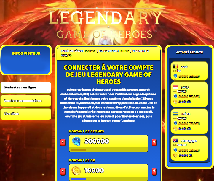 Legendary Game of Heroes triche, Legendary Game of Heroes triche en ligne, Legendary Game of Heroes triche android, Legendary Game of Heroes triche Gemmes et Or gratuit, Legendary Game of Heroes triche illimite Gemmes et Or, Legendary Game of Heroes triche ios, Legendary Game of Heroes triche ipad, Legendary Game of Heroes triche iphone, Legendary Game of Heroes gratuit Gemmes et Or, Legendary Game of Heroes triche samsung galaxy, Legendary Game of Heroes triche telecharger, Legendary Game of Heroes tricher, Legendary Game of Heroes tricheu, Legendary Game of Heroes tricheur, triche Legendary Game of Heroes, code de triche Legendary Game of Heroes, Legendary Game of Heroes astuce, Legendary Game of Heroes astuce en ligne, Legendary Game of Heroes astuce android, Legendary Game of Heroes astuce gratuit, Legendary Game of Heroes astuce ios, Legendary Game of Heroes astuce iphone, Legendary Game of Heroes astuce telecharger, Legendary Game of Heroes astuces, Legendary Game of Heroes astuces gratuit, Legendary Game of Heroes astuces android, Legendary Game of Heroes astuces ios,, Legendary Game of Heroes astuces telecharger, Legendary Game of Heroes astuce Gemmes et Or, Legendary Game of Heroes cheat, Legendary Game of Heroes cheats, Legendary Game of Heroes cheat Gemmes et Or, Legendary Game of Heroes cheat gratuit, Legendary Game of Heroes cheat iphone, Legendary Game of Heroes cheat telecharger, Legendary Game of Heroes hack online, Legendary Game of Heroes hack generator, Legendary Game of Heroes hack android, Legendary Game of Heroes hack Gemmes et Or, Legendary Game of Heroes illimité Gemmes et Or, Legendary Game of Heroes mod apk, Legendary Game of Heroes mod apk Gemmes et Or, Legendary Game of Heroes mod apk android, Legendary Game of Heroes outil, Legendary Game of Heroes outil de piratage, Legendary Game of Heroes pirater, Legendary Game of Heroes pirater en ligne, Legendary Game of Heroes pirater android, Legendary Game of Heroes pirater Gemmes et Or, Legenda