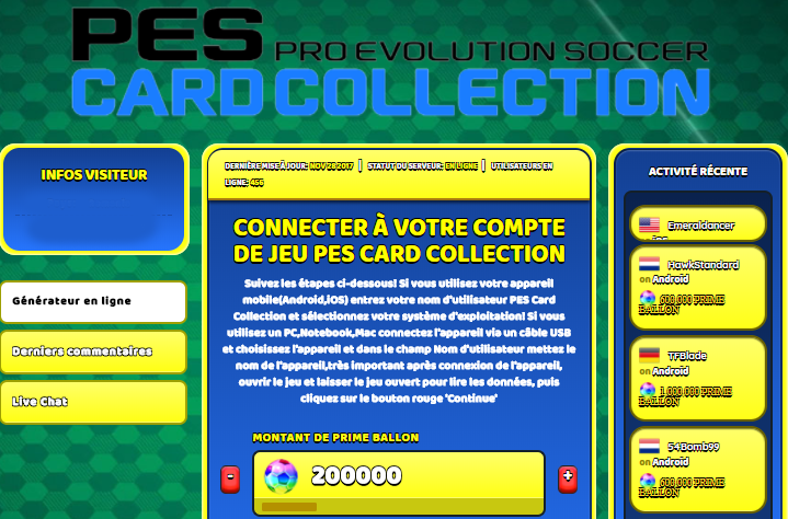 PES Card Collection triche, PES Card Collection triche en ligne, PES Card Collection triche android, PES Card Collection triche Prime Ballon gratuit, PES Card Collection triche illimite Prime Ballon, PES Card Collection triche ios, PES Card Collection triche ipad, PES Card Collection triche iphone, PES Card Collection gratuit Prime Ballon, PES Card Collection triche samsung galaxy, PES Card Collection triche telecharger, PES Card Collection tricher, PES Card Collection tricheu, PES Card Collection tricheur, triche PES Card Collection, code de triche PES Card Collection, PES Card Collection astuce, PES Card Collection astuce en ligne, PES Card Collection astuce android, PES Card Collection astuce gratuit, PES Card Collection astuce ios, PES Card Collection astuce iphone, PES Card Collection astuce telecharger, PES Card Collection astuces, PES Card Collection astuces gratuit, PES Card Collection astuces android, PES Card Collection astuces ios,, PES Card Collection astuces telecharger, PES Card Collection astuce Prime Ballon, PES Card Collection cheat, PES Card Collection cheats, PES Card Collection cheat Prime Ballon, PES Card Collection cheat gratuit, PES Card Collection cheat iphone, PES Card Collection cheat telecharger, PES Card Collection hack online, PES Card Collection hack generator, PES Card Collection hack android, PES Card Collection hack Prime Ballon, PES Card Collection illimité Prime Ballon, PES Card Collection mod apk, PES Card Collection mod apk Prime Ballon, PES Card Collection mod apk android, PES Card Collection outil, PES Card Collection outil de piratage, PES Card Collection pirater, PES Card Collection pirater en ligne, PES Card Collection pirater android, PES Card Collection pirater Prime Ballon, PES Card Collection pirater gratuit, PES Card Collection pirater ios, PES Card Collection pirater iphone, PES Card Collection pirater illimite Prime Ballon, PES Card Collection triche jeu, PES Card Collection astuce triche en ligne, comment tricheur sur PES Card Collection, Prime Ballon gratuit dans PES Card Collection, PES Card Collection illimite Prime Ballon, PES Card Collection hacken, PES Card Collection beschummeln, PES Card Collection betrügen, PES Card Collection betrügen Prime Ballon, PES Card Collection unbegrenzt Prime Ballon, PES Card Collection Prime Ballon frei, PES Card Collection hacken Prime Ballon, PES Card Collection Prime Ballon gratuito, PES Card Collection mod Prime Ballon, PES Card Collection trucchi, PES Card Collection engañar