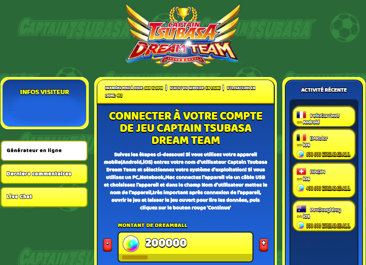 Captain Tsubasa Dream Team triche, Captain Tsubasa Dream Team triche en ligne, Captain Tsubasa Dream Team triche android, Captain Tsubasa Dream Team triche Dreamball gratuit, Captain Tsubasa Dream Team triche illimite Dreamball, Captain Tsubasa Dream Team triche ios, Captain Tsubasa Dream Team triche ipad, Captain Tsubasa Dream Team triche iphone, Captain Tsubasa Dream Team gratuit Dreamball, Captain Tsubasa Dream Team triche samsung galaxy, Captain Tsubasa Dream Team triche telecharger, Captain Tsubasa Dream Team tricher, Captain Tsubasa Dream Team tricheu, Captain Tsubasa Dream Team tricheur, triche Captain Tsubasa Dream Team, code de triche Captain Tsubasa Dream Team, Captain Tsubasa Dream Team astuce, Captain Tsubasa Dream Team astuce en ligne, Captain Tsubasa Dream Team astuce android, Captain Tsubasa Dream Team astuce gratuit, Captain Tsubasa Dream Team astuce ios, Captain Tsubasa Dream Team astuce iphone, Captain Tsubasa Dream Team astuce telecharger, Captain Tsubasa Dream Team astuces, Captain Tsubasa Dream Team astuces gratuit, Captain Tsubasa Dream Team astuces android, Captain Tsubasa Dream Team astuces ios,, Captain Tsubasa Dream Team astuces telecharger, Captain Tsubasa Dream Team astuce Dreamball, Captain Tsubasa Dream Team cheat, Captain Tsubasa Dream Team cheats, Captain Tsubasa Dream Team cheat Dreamball, Captain Tsubasa Dream Team cheat gratuit, Captain Tsubasa Dream Team cheat iphone, Captain Tsubasa Dream Team cheat telecharger, Captain Tsubasa Dream Team hack online, Captain Tsubasa Dream Team hack generator, Captain Tsubasa Dream Team hack android, Captain Tsubasa Dream Team hack Dreamball, Captain Tsubasa Dream Team illimité Dreamball, Captain Tsubasa Dream Team mod apk, Captain Tsubasa Dream Team mod apk Dreamball, Captain Tsubasa Dream Team mod apk android, Captain Tsubasa Dream Team outil, Captain Tsubasa Dream Team outil de piratage, Captain Tsubasa Dream Team pirater, Captain Tsubasa Dream Team pirater en ligne, Captain Tsubasa Dream Team pirater android, Captain Tsubasa Dream Team pirater Dreamball, Captain Tsubasa Dream Team pirater gratuit, Captain Tsubasa Dream Team pirater ios, Captain Tsubasa Dream Team pirater iphone, Captain Tsubasa Dream Team pirater illimite Dreamball, Captain Tsubasa Dream Team triche jeu, Captain Tsubasa Dream Team astuce triche en ligne, comment tricheur sur Captain Tsubasa Dream Team, Dreamball gratuit dans Captain Tsubasa Dream Team, Captain Tsubasa Dream Team illimite Dreamball, Captain Tsubasa Dream Team hacken, Captain Tsubasa Dream Team beschummeln, Captain Tsubasa Dream Team betrügen, Captain Tsubasa Dream Team betrügen Dreamball, Captain Tsubasa Dream Team unbegrenzt Dreamball, Captain Tsubasa Dream Team Dreamball frei, Captain Tsubasa Dream Team hacken Dreamball, Captain Tsubasa Dream Team Dreamball gratuito, Captain Tsubasa Dream Team mod Dreamball, Captain Tsubasa Dream Team trucchi, Captain Tsubasa Dream Team engañar