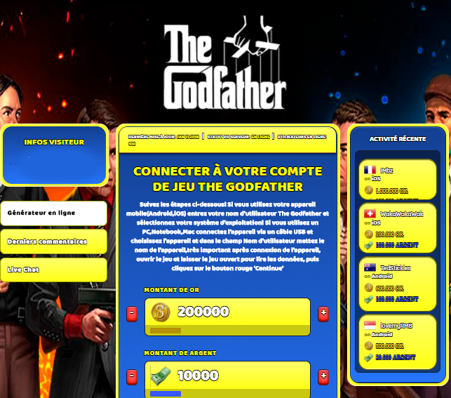 The Godfather triche, The Godfather triche en ligne, The Godfather triche android, The Godfather triche Or et Argent gratuit, The Godfather triche illimite Or et Argent, The Godfather triche ios, The Godfather triche ipad, The Godfather triche iphone, The Godfather gratuit Or et Argent, The Godfather triche samsung galaxy, The Godfather triche telecharger, The Godfather tricher, The Godfather tricheu, The Godfather tricheur, triche The Godfather, code de triche The Godfather, The Godfather astuce, The Godfather astuce en ligne, The Godfather astuce android, The Godfather astuce gratuit, The Godfather astuce ios, The Godfather astuce iphone, The Godfather astuce telecharger, The Godfather astuces, The Godfather astuces gratuit, The Godfather astuces android, The Godfather astuces ios,, The Godfather astuces telecharger, The Godfather astuce Or et Argent, The Godfather cheat, The Godfather cheats, The Godfather cheat Or et Argent, The Godfather cheat gratuit, The Godfather cheat iphone, The Godfather cheat telecharger, The Godfather hack online, The Godfather hack generator, The Godfather hack android, The Godfather hack Or et Argent, The Godfather illimité Or et Argent, The Godfather mod apk, The Godfather mod apk Or et Argent, The Godfather mod apk android, The Godfather outil, The Godfather outil de piratage, The Godfather pirater, The Godfather pirater en ligne, The Godfather pirater android, The Godfather pirater Or et Argent, The Godfather pirater gratuit, The Godfather pirater ios, The Godfather pirater iphone, The Godfather pirater illimite Or et Argent, The Godfather triche jeu, The Godfather astuce triche en ligne, comment tricheur sur The Godfather, Or et Argent gratuit dans The Godfather, The Godfather illimite Or et Argent, The Godfather hacken, The Godfather beschummeln, The Godfather betrügen, The Godfather betrügen Or et Argent, The Godfather unbegrenzt Or et Argent, The Godfather Or et Argent frei, The Godfather hacken Or et Argent, The Godfather Or et Argent gratuito, The Godfather mod Or et Argent, The Godfather trucchi, The Godfather engañar