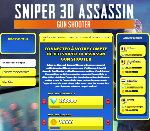 Sniper 3D Assassin Gun Shooter triche, Sniper 3D Assassin Gun Shooter triche en ligne, Sniper 3D Assassin Gun Shooter triche android, Sniper 3D Assassin Gun Shooter triche Diamants et Pieces gratuit, Sniper 3D Assassin Gun Shooter triche illimite Diamants et Pieces, Sniper 3D Assassin Gun Shooter triche ios, Sniper 3D Assassin Gun Shooter triche ipad, Sniper 3D Assassin Gun Shooter triche iphone, Sniper 3D Assassin Gun Shooter gratuit Diamants et Pieces, Sniper 3D Assassin Gun Shooter triche samsung galaxy, Sniper 3D Assassin Gun Shooter triche telecharger, Sniper 3D Assassin Gun Shooter tricher, Sniper 3D Assassin Gun Shooter tricheu, Sniper 3D Assassin Gun Shooter tricheur, triche Sniper 3D Assassin Gun Shooter, code de triche Sniper 3D Assassin Gun Shooter, Sniper 3D Assassin Gun Shooter astuce, Sniper 3D Assassin Gun Shooter astuce en ligne, Sniper 3D Assassin Gun Shooter astuce android, Sniper 3D Assassin Gun Shooter astuce gratuit, Sniper 3D Assassin Gun Shooter astuce ios, Sniper 3D Assassin Gun Shooter astuce iphone, Sniper 3D Assassin Gun Shooter astuce telecharger, Sniper 3D Assassin Gun Shooter astuces, Sniper 3D Assassin Gun Shooter astuces gratuit, Sniper 3D Assassin Gun Shooter astuces android, Sniper 3D Assassin Gun Shooter astuces ios,, Sniper 3D Assassin Gun Shooter astuces telecharger, Sniper 3D Assassin Gun Shooter astuce Diamants et Pieces, Sniper 3D Assassin Gun Shooter cheat, Sniper 3D Assassin Gun Shooter cheats, Sniper 3D Assassin Gun Shooter cheat Diamants et Pieces, Sniper 3D Assassin Gun Shooter cheat gratuit, Sniper 3D Assassin Gun Shooter cheat iphone, Sniper 3D Assassin Gun Shooter cheat telecharger, Sniper 3D Assassin Gun Shooter hack online, Sniper 3D Assassin Gun Shooter hack generator, Sniper 3D Assassin Gun Shooter hack android, Sniper 3D Assassin Gun Shooter hack Diamants et Pieces, Sniper 3D Assassin Gun Shooter illimité Diamants et Pieces, Sniper 3D Assassin Gun Shooter mod apk, Sniper 3D Assassin Gun Shooter mod apk Diamants et Pieces, Sniper 3D Assassin Gun Shooter mod apk android, Sniper 3D Assassin Gun Shooter outil, Sniper 3D Assassin Gun Shooter outil de piratage, Sniper 3D Assassin Gun Shooter pirater, Sniper 3D Assassin Gun Shooter pirater en ligne, Sniper 3D Assassin Gun Shooter pirater android, Sniper 3D Assassin Gun Shooter pirater Diamants et Pieces, Sniper 3D Assassin Gun Shooter pirater gratuit, Sniper 3D Assassin Gun Shooter pirater ios, Sniper 3D Assassin Gun Shooter pirater iphone, Sniper 3D Assassin Gun Shooter pirater illimite Diamants et Pieces, Sniper 3D Assassin Gun Shooter triche jeu, Sniper 3D Assassin Gun Shooter astuce triche en ligne, comment tricheur sur Sniper 3D Assassin Gun Shooter, Diamants et Pieces gratuit dans Sniper 3D Assassin Gun Shooter, Sniper 3D Assassin Gun Shooter illimite Diamants et Pieces, Sniper 3D Assassin Gun Shooter hacken, Sniper 3D Assassin Gun Shooter beschummeln, Sniper 3D Assassin Gun Shooter betrügen, Sniper 3D Assassin Gun Shooter betrügen Diamants et Pieces, Sniper 3D Assassin Gun Shooter unbegrenzt Diamants et Pieces, Sniper 3D Assassin Gun Shooter Diamants et Pieces frei, Sniper 3D Assassin Gun Shooter hacken Diamants et Pieces, Sniper 3D Assassin Gun Shooter Diamants et Pieces gratuito, Sniper 3D Assassin Gun Shooter mod Diamants et Pieces, Sniper 3D Assassin Gun Shooter trucchi, Sniper 3D Assassin Gun Shooter engañar